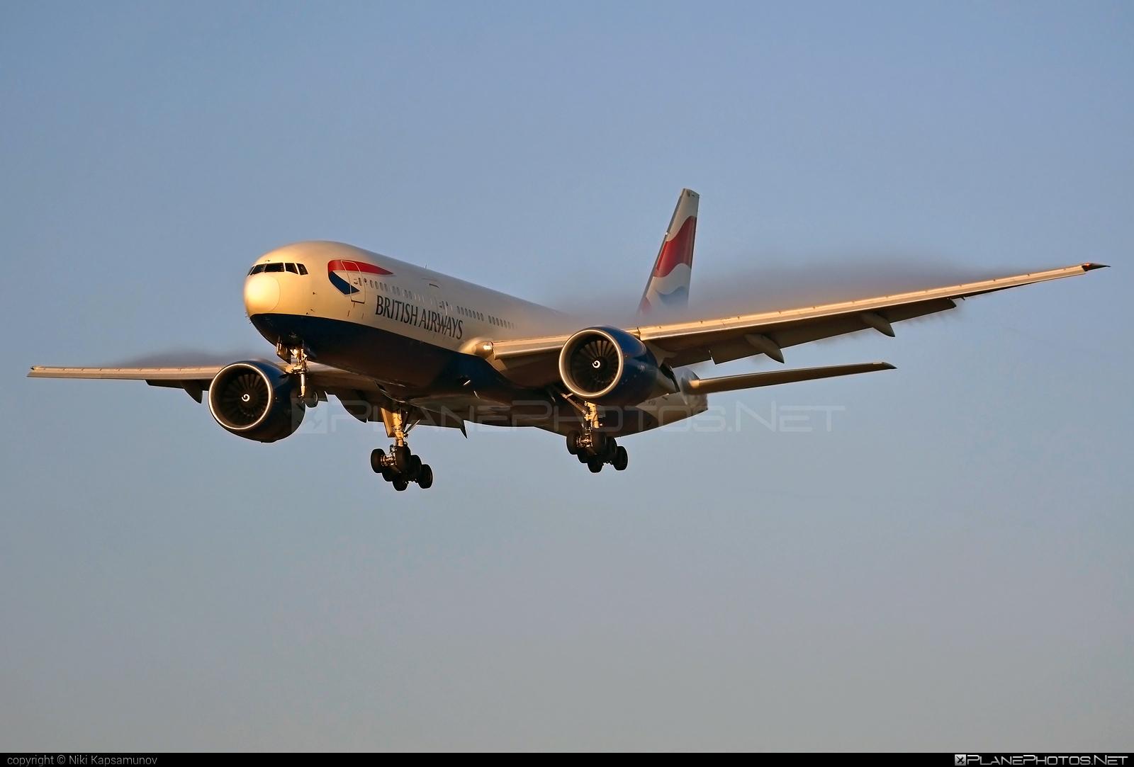 Boeing 777-200ER - G-VIIW operated by British Airways #b777 #b777er #boeing #boeing777 #britishairways #tripleseven