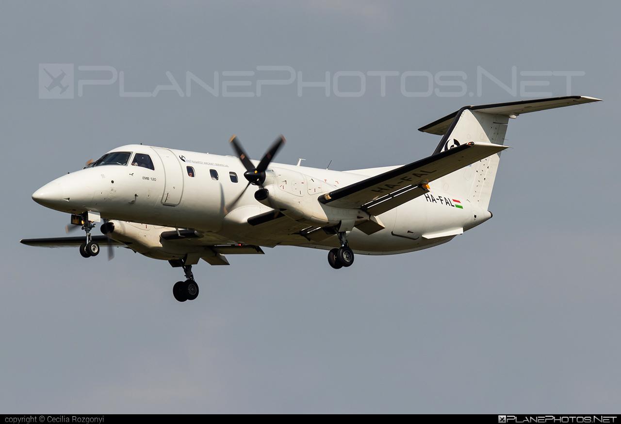 Budapest Aircraft Service Embraer EMB-120ER Brasilia - HA-FAL #embraer