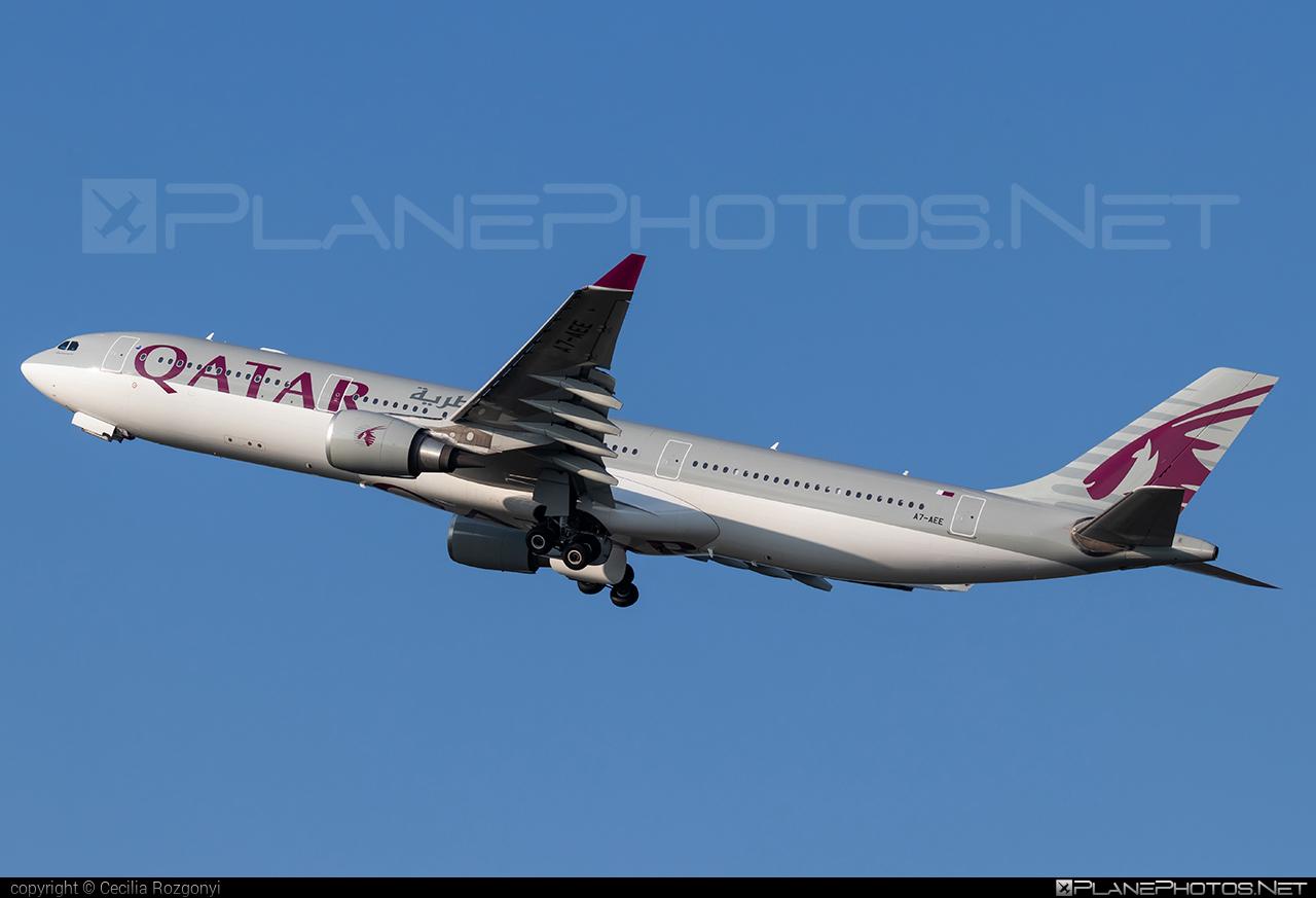 Qatar Airways Airbus A330-302 - A7-AEE #a330 #a330family #airbus #airbus330 #qatarairways