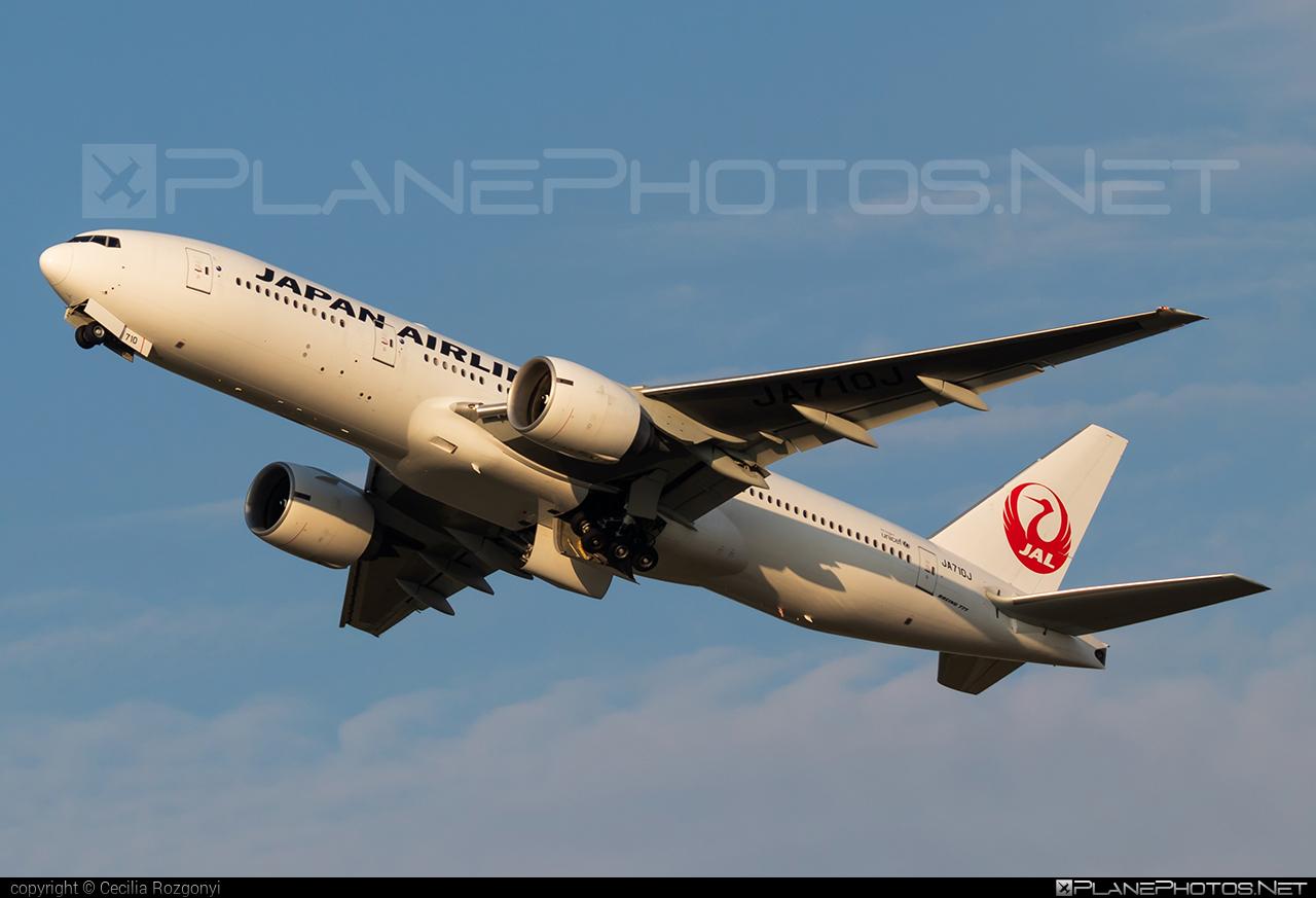 Japan Airlines (JAL) Boeing 777-200ER - JA710J #b777 #b777er #boeing #boeing777 #tripleseven