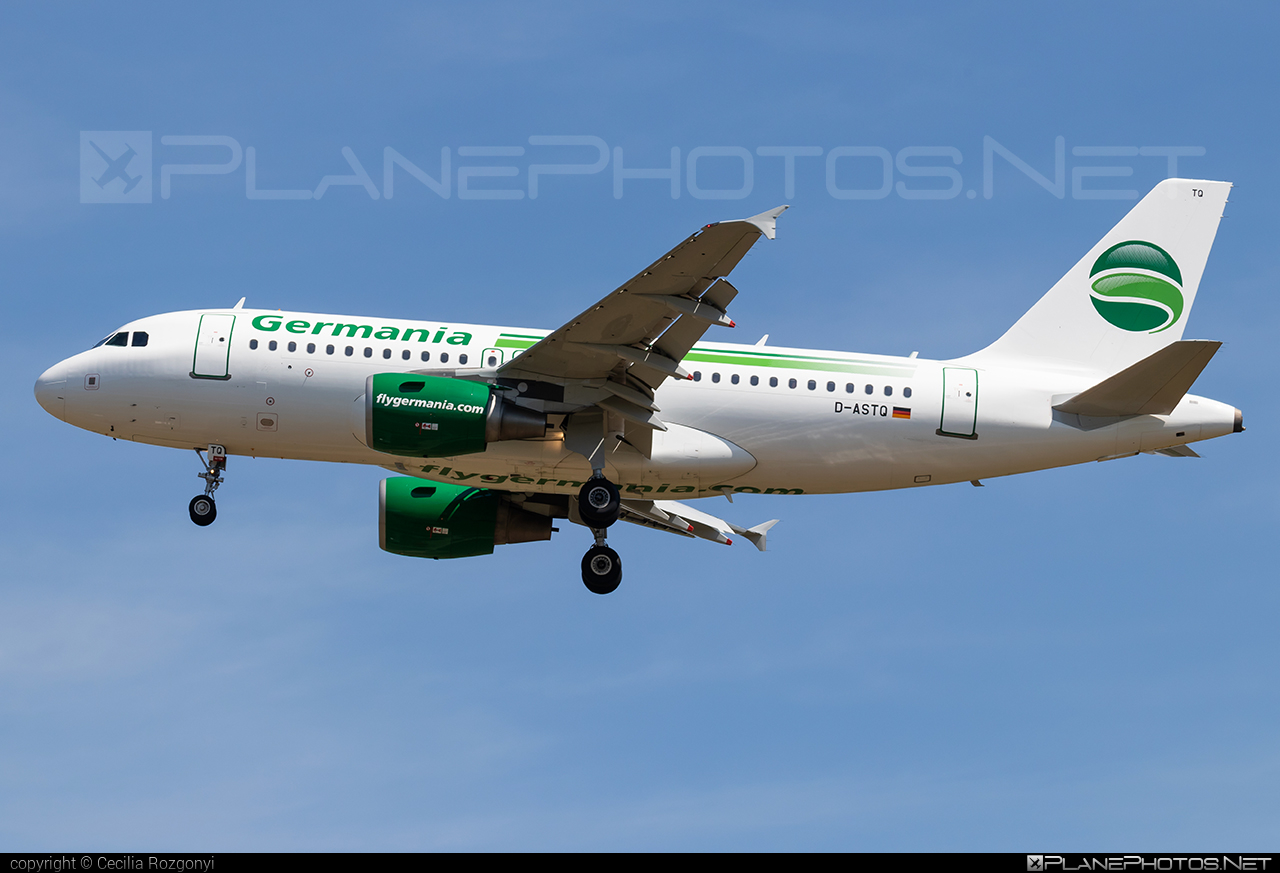 Airbus A319-111 - D-ASTQ operated by Germania #a319 #a320family #airbus #airbus319