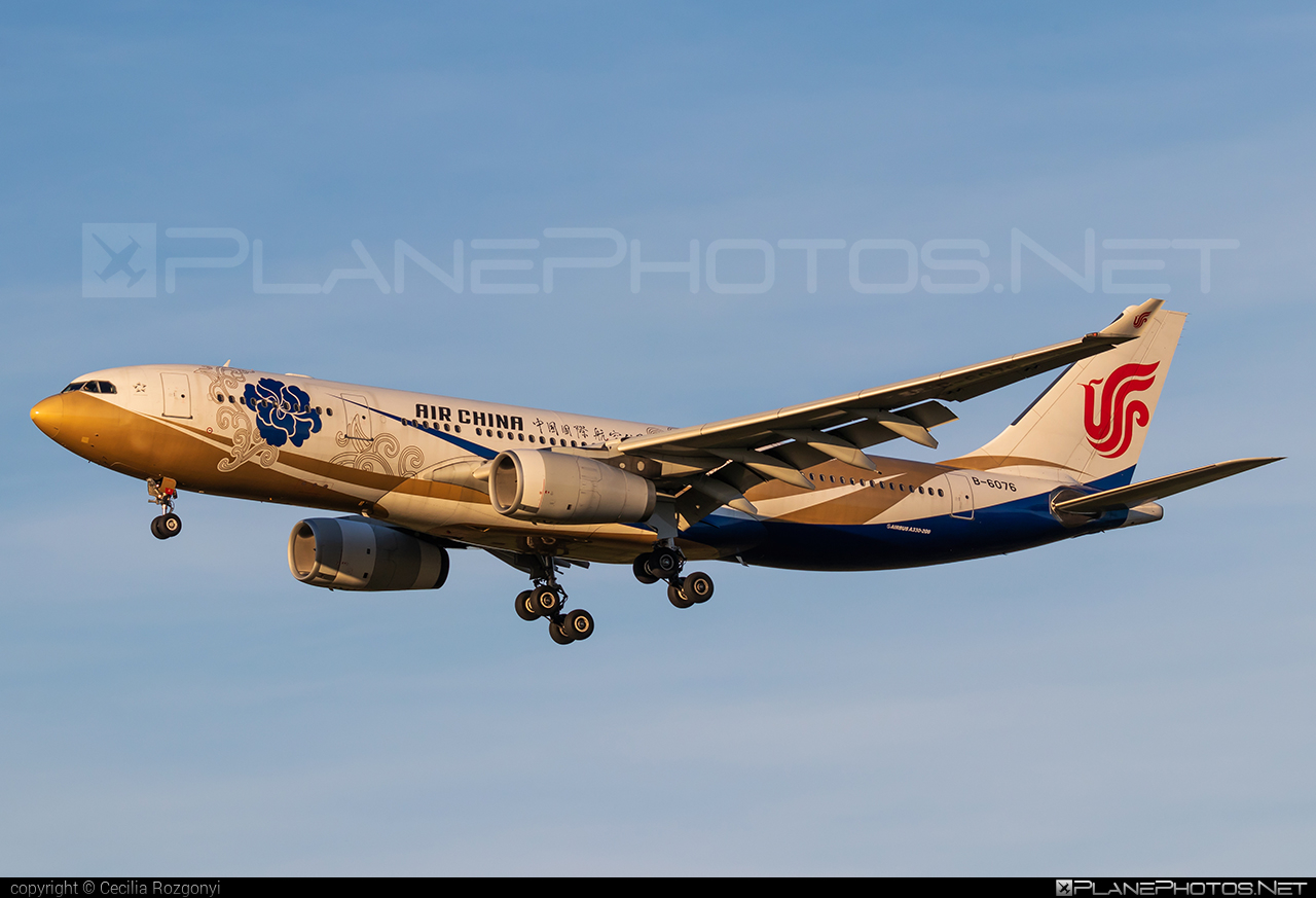 Airbus A330-243 - B-6076 operated by Air China #a330 #a330family #airbus #airbus330 #airchina