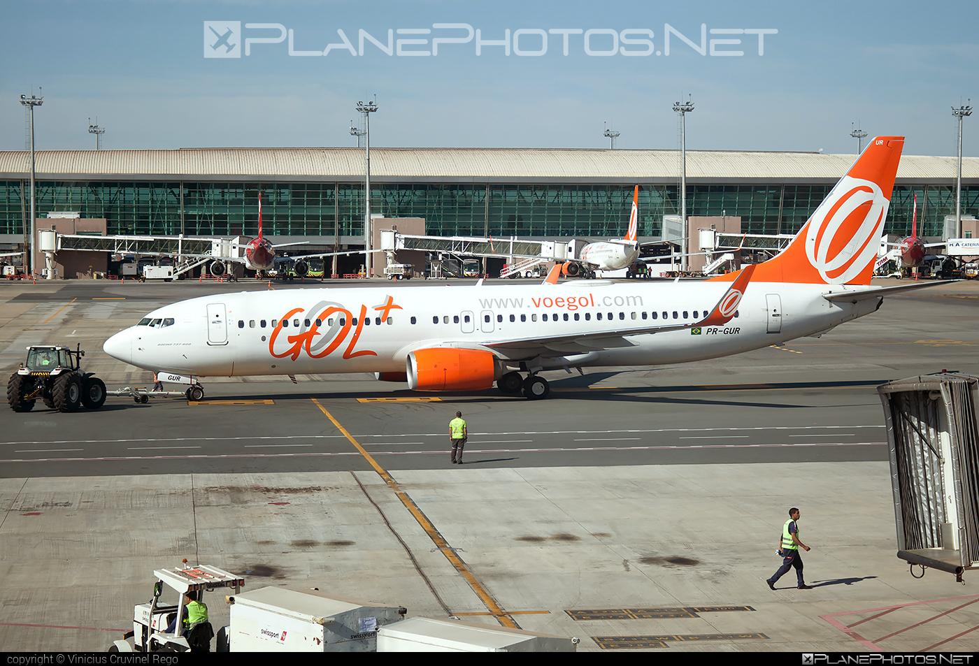 Boeing 737-800 - PR-GUR operated by GOL Linhas Aéreas Inteligentes #b737 #b737nextgen #b737ng #boeing #boeing737