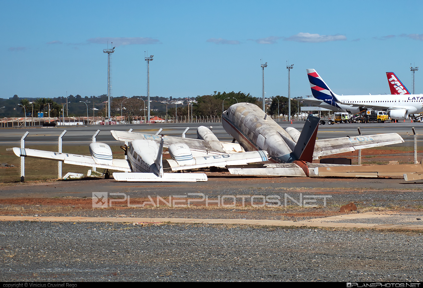 Embraer EMB-810D Seneca III - PT-FEB operated by Private operator #emb810 #emb810d #embraer #embraerseneca #senecaiii