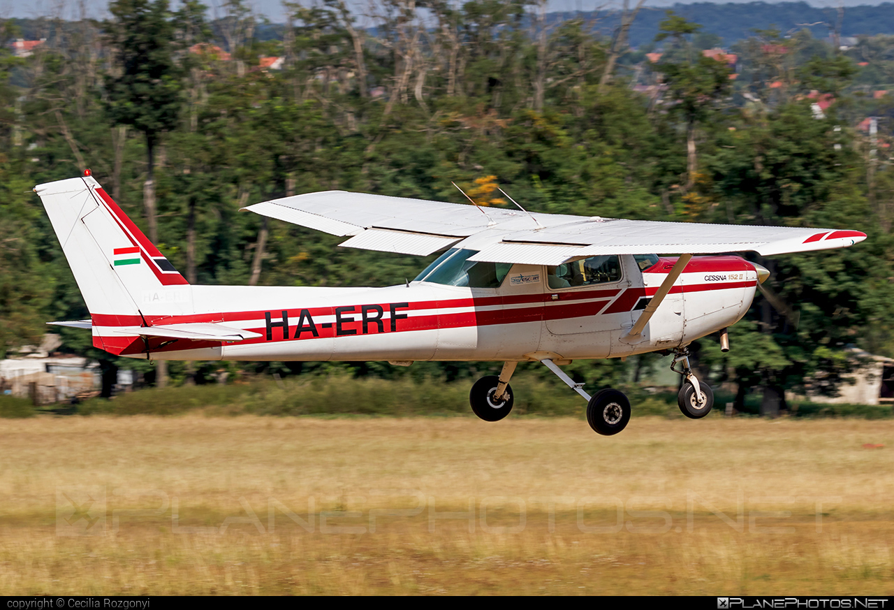 Cessna 152 II - HA-ERF operated by Sky Escort Hungary Aero Club #cessna #cessna152 #cessna152ii #skyescorthungaryaeroclub