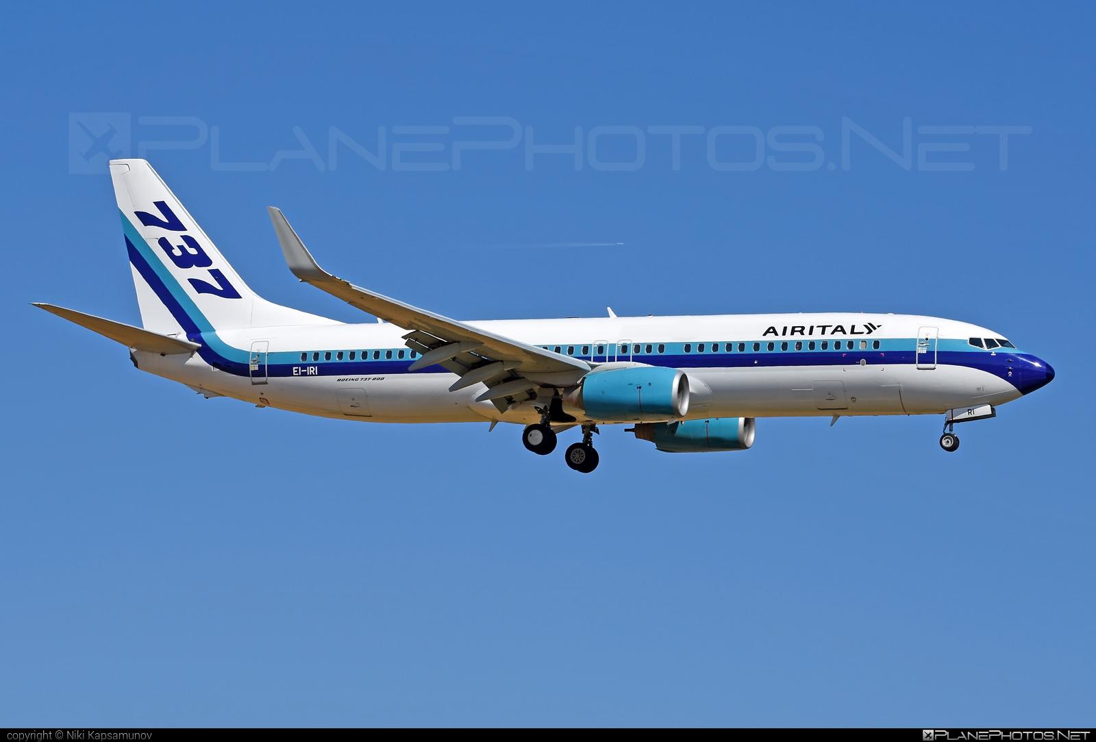 Boeing 737-800 - EI-IRI operated by Air Italy #b737 #b737nextgen #b737ng #boeing #boeing737