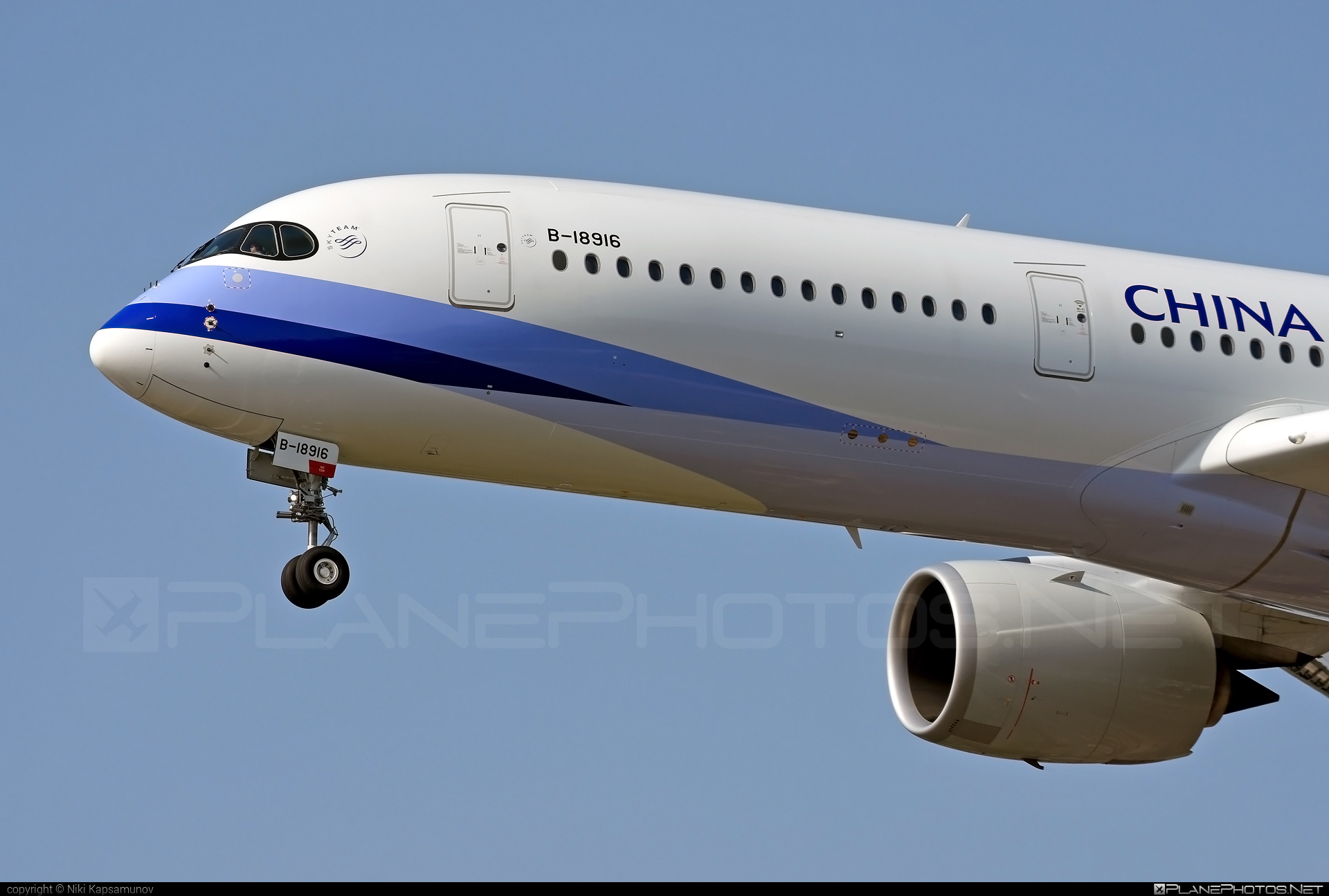 Airbus A350-941 - B-18916 operated by China Airlines #a350 #a350family #airbus #airbus350 #chinaairlines #xwb
