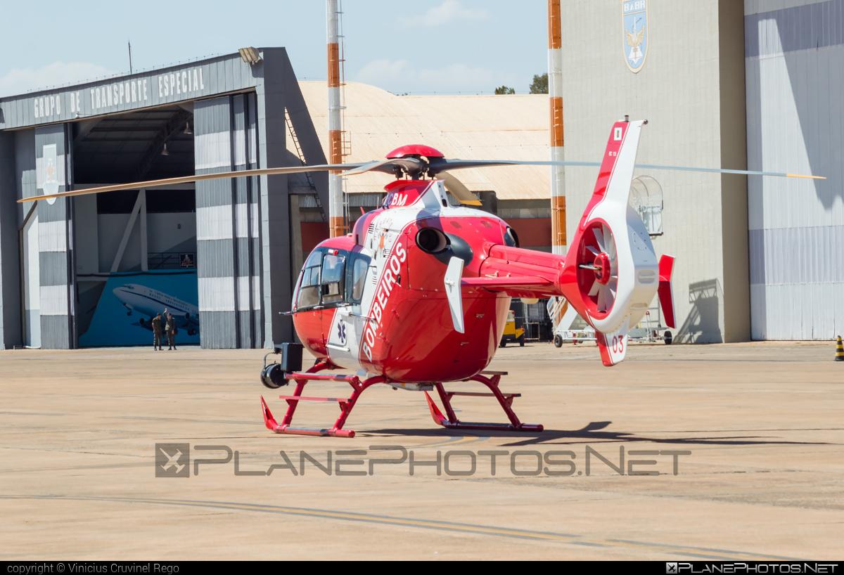 Eurocopter EC135 T2 - PR-CBM operated by Corpo de Bombeiros Militar do Distrito Federal (Brazil - Military Firefighter Corps of Federal District) #corpodebombeirosmilitar #ec135 #ec135t2 #eurocopter #militaryfirefighterscorps