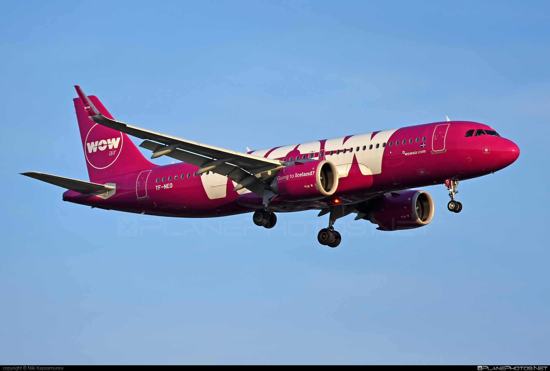 Airbus A320-251N - TF-NEO operated by WOW air #a320 #a320family #a320neo #airbus #airbus320