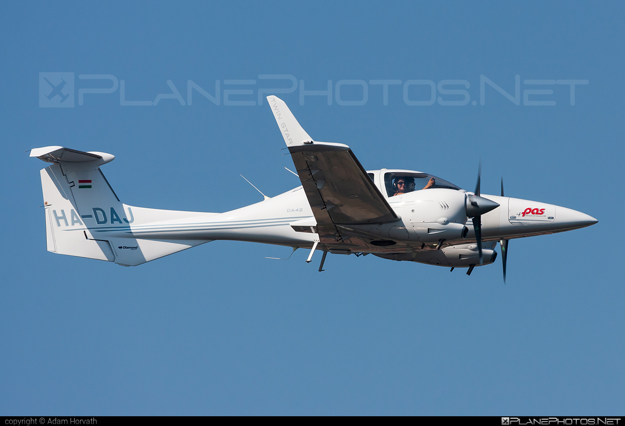 Diamond DA42 Twin Star - HA-DAJ operated by Pannon Air Service #diamond #pannonairservice