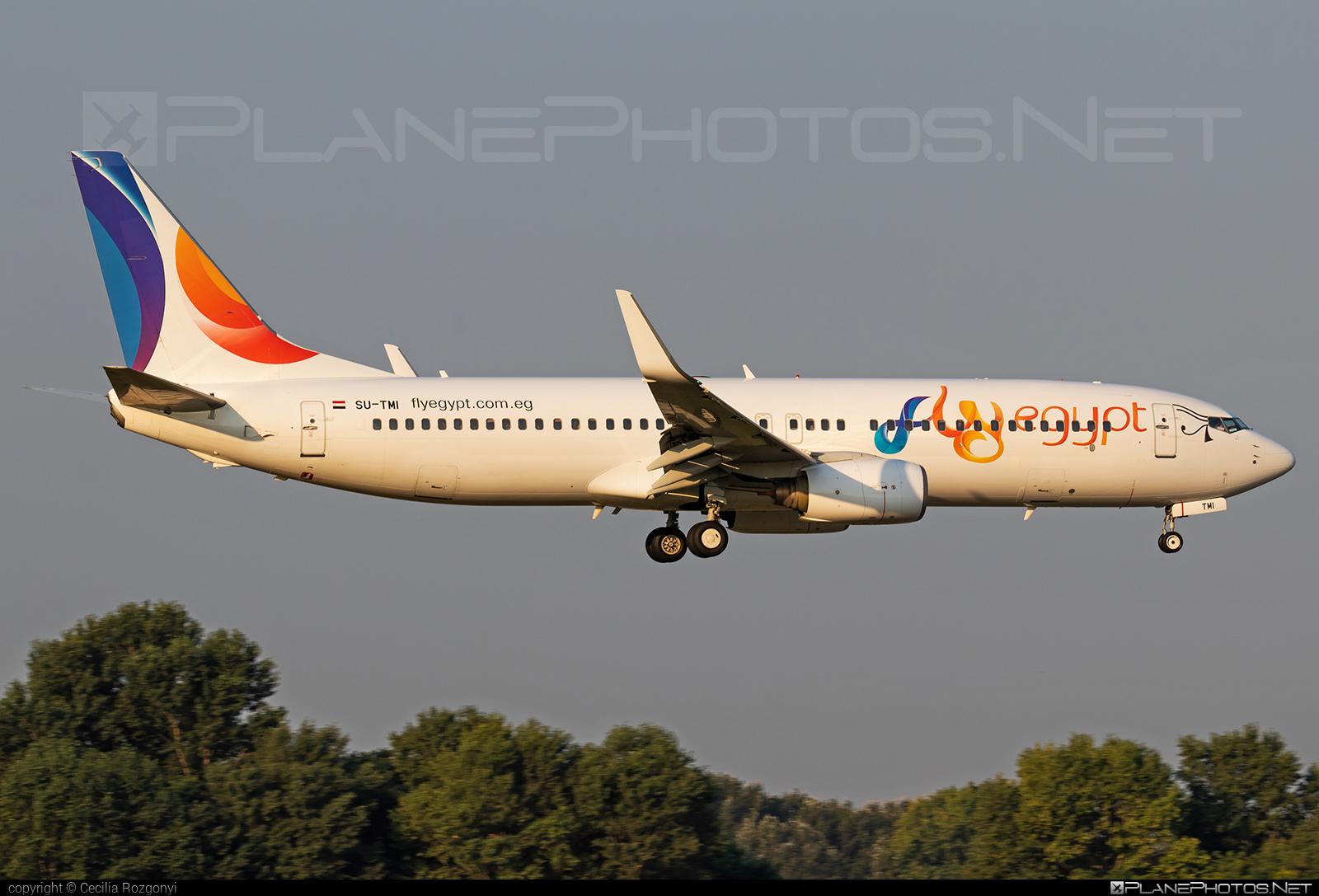Boeing 737-800 - SU-TMI operated by FlyEgypt #b737 #b737nextgen #b737ng #boeing #boeing737