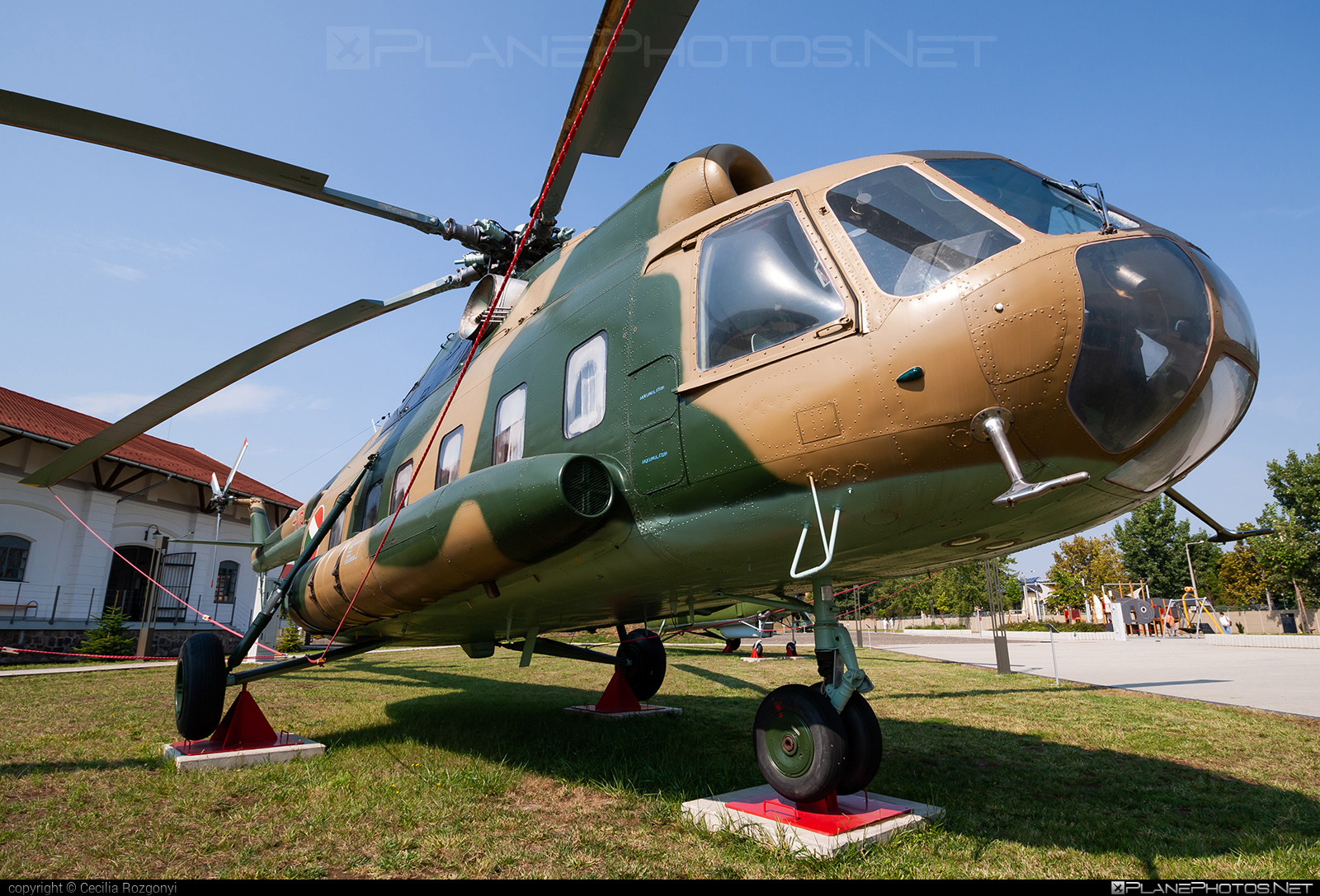 Mil Mi-8S - 416 operated by Magyar Légierő (Hungarian Air Force) #hungarianairforce #magyarlegiero #mil #milhelicopters