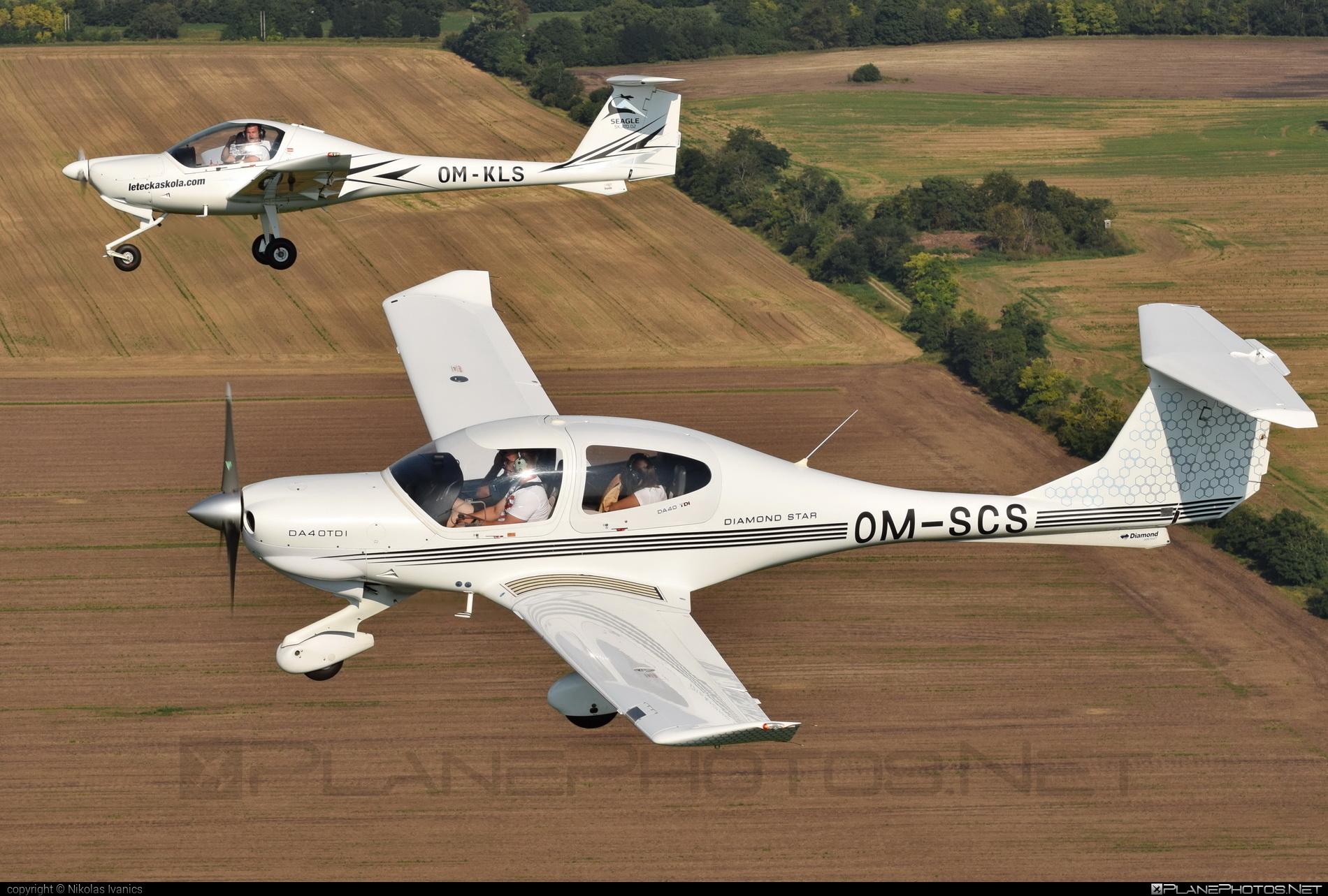 Diamond DA40 TDI Diamond Star - OM-SCS operated by SeagleAir #diamond