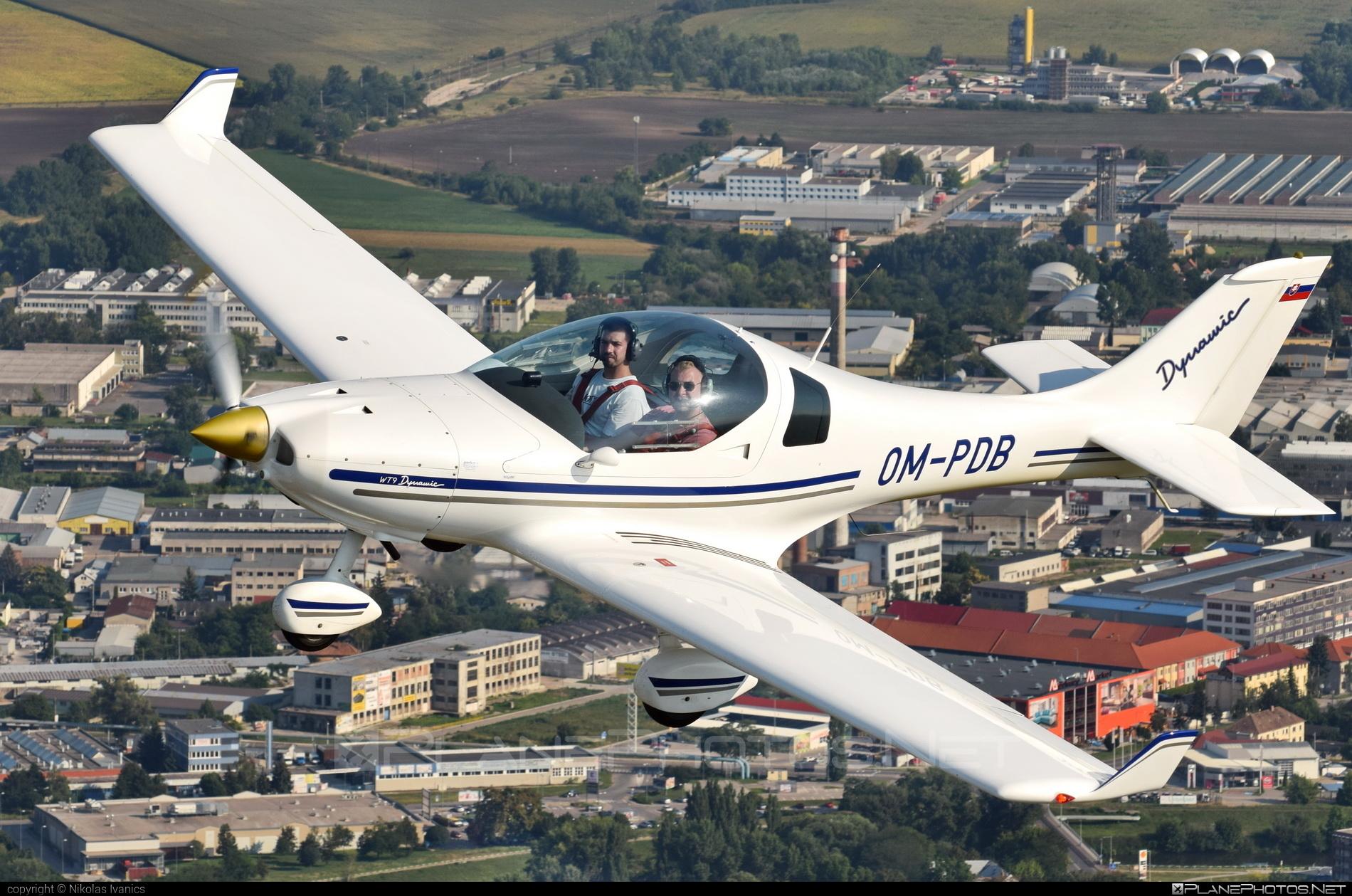 Aerospool WT9 Dynamic - OM-PDB operated by Private operator #aerospool #wt9 #wt9dynamic