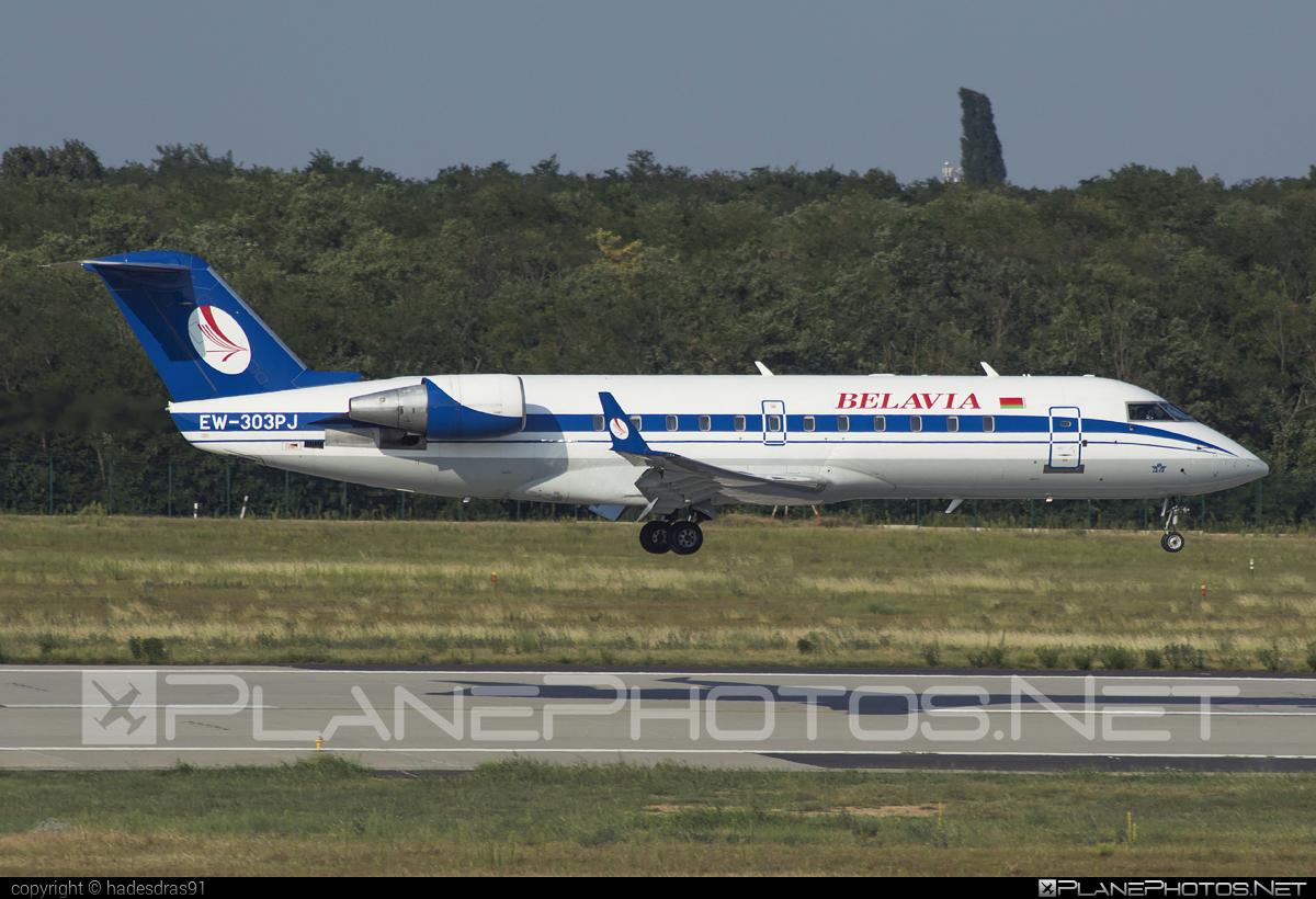 Bombardier CRJ200LR - EW-303PJ operated by Belavia Belarusian Airlines #belavia #bombardier #crj200 #crj200lr