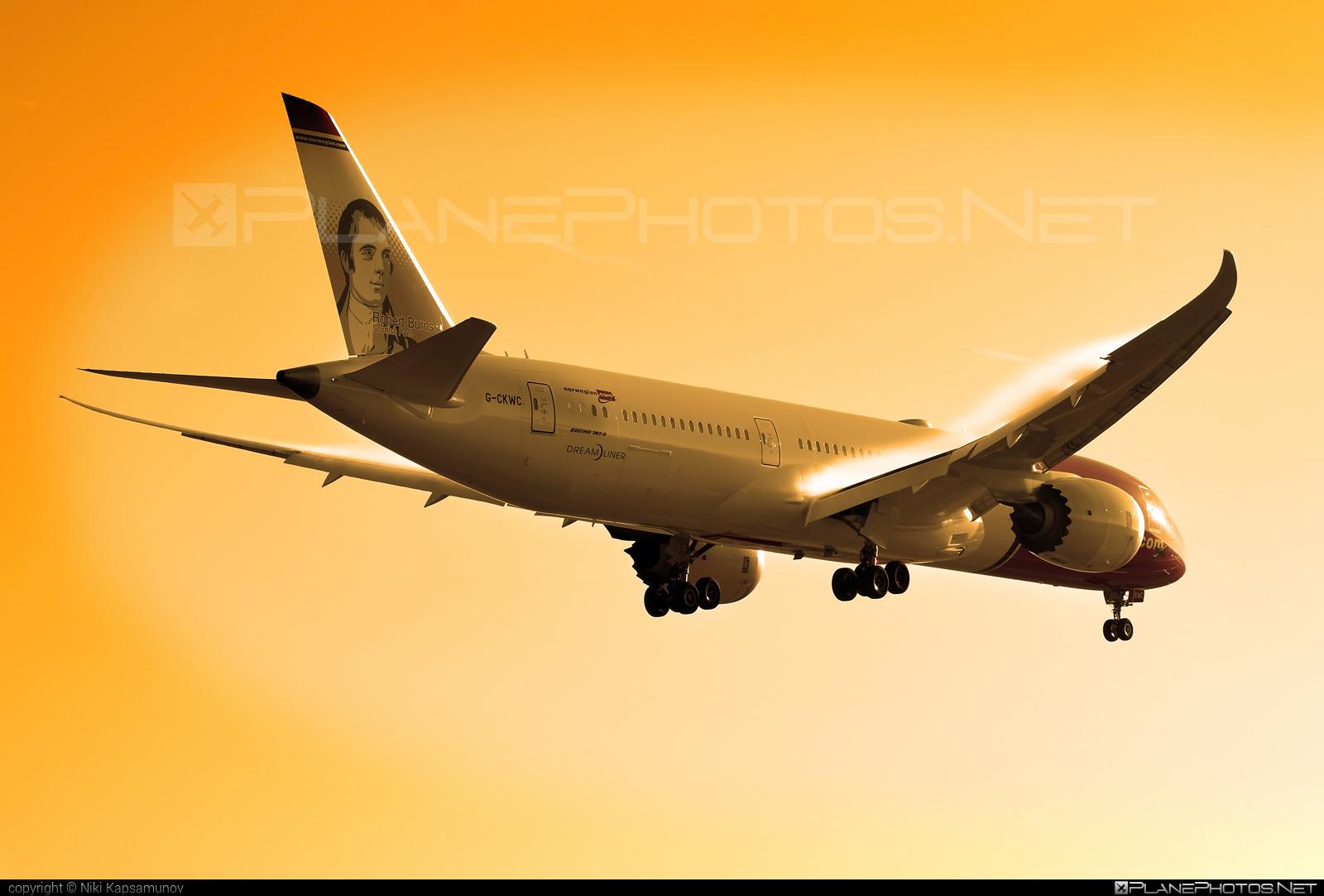 Norwegian Air UK Boeing 787-9 Dreamliner - G-CKWC #b787 #boeing #boeing787 #dreamliner #norwegian #norwegianair #norwegianairuk