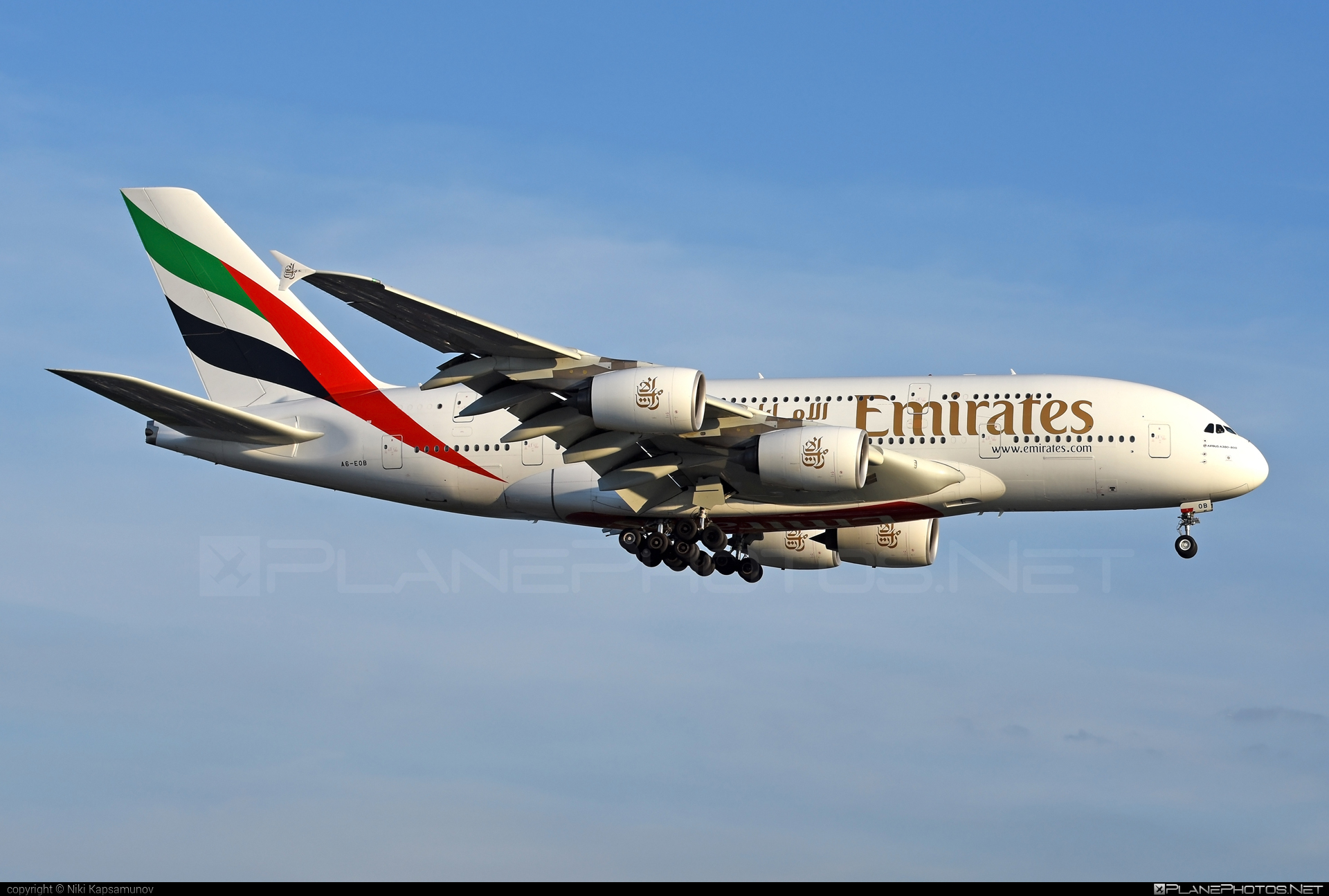 Airbus A380-861 - A6-EOB operated by Emirates #a380 #a380family #airbus #airbus380 #emirates