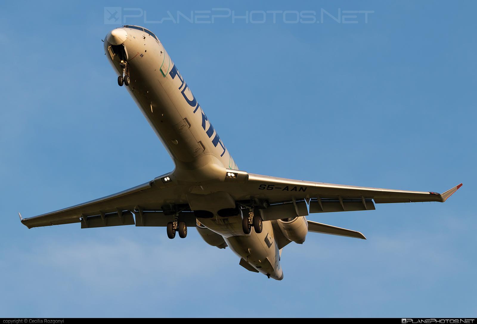 Bombardier CRJ900 NextGen - S5-AAN operated by Adria Airways #bombardier #crj900 #crj900nextgen #crj900ng