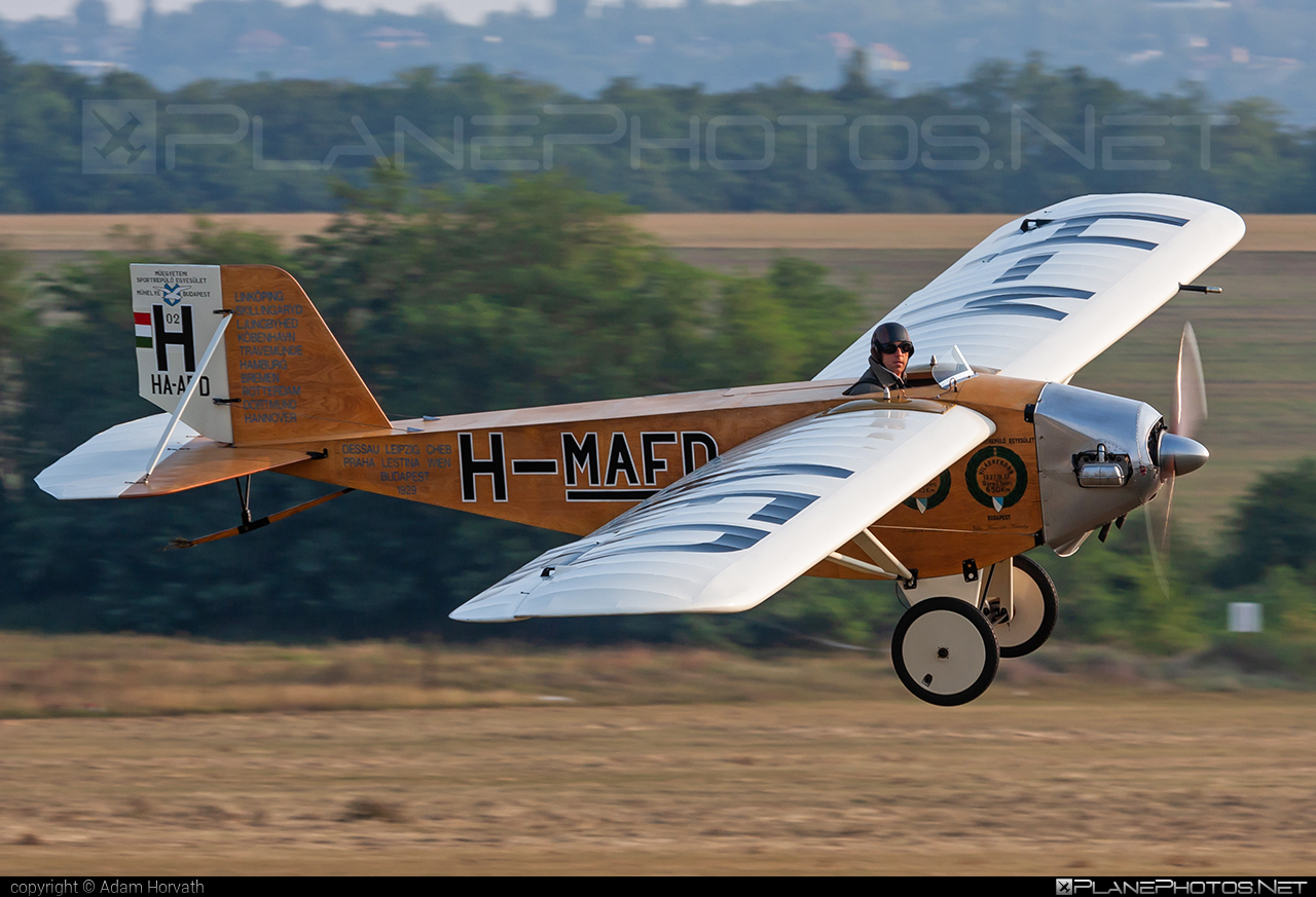 Lampich L-2 Róma (replica) - HA-AFD operated by Private operator #lampich