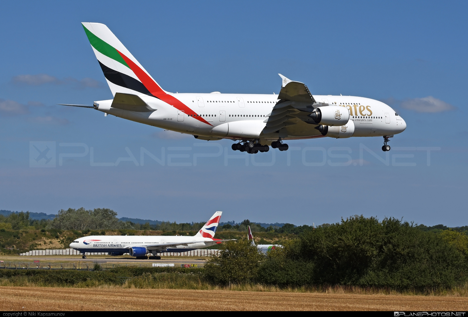 Airbus A380-842 - A6-EUS operated by Emirates #a380 #a380family #airbus #airbus380 #emirates