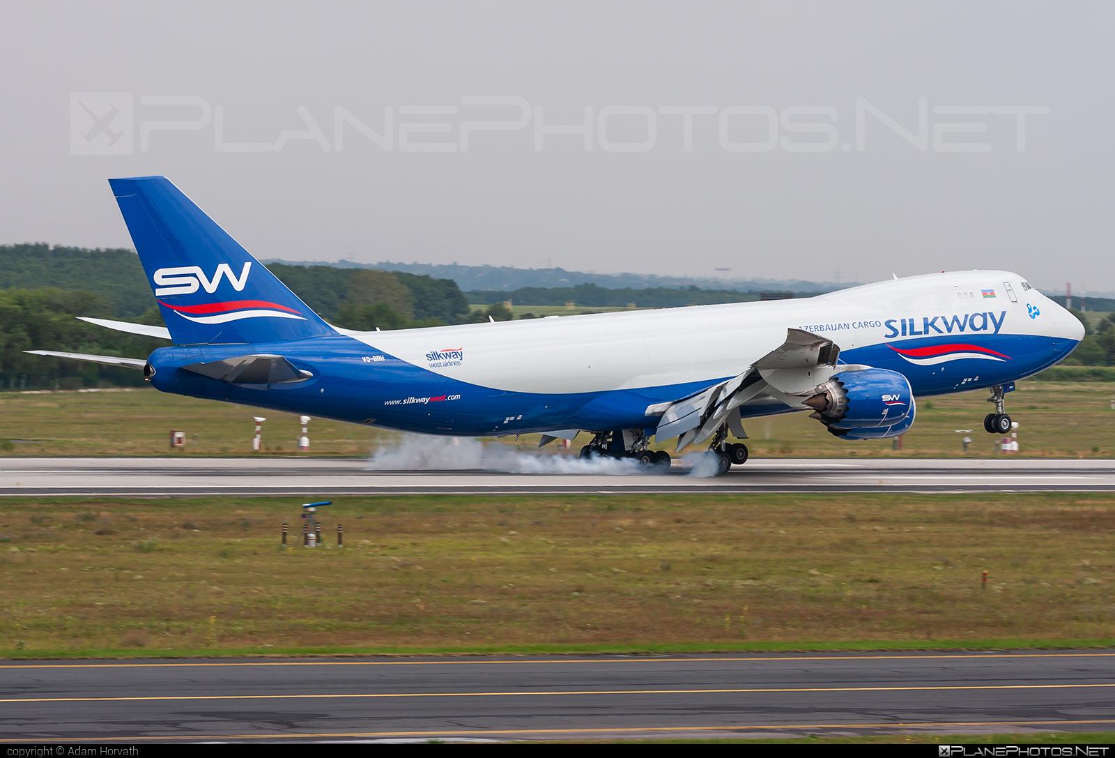 Boeing 747-8F - VQ-BBH operated by Silk Way West Airlines #b747 #b747f #b747freighter #boeing #boeing747 #jumbo #silkwayairlines #silkwaywestairlines