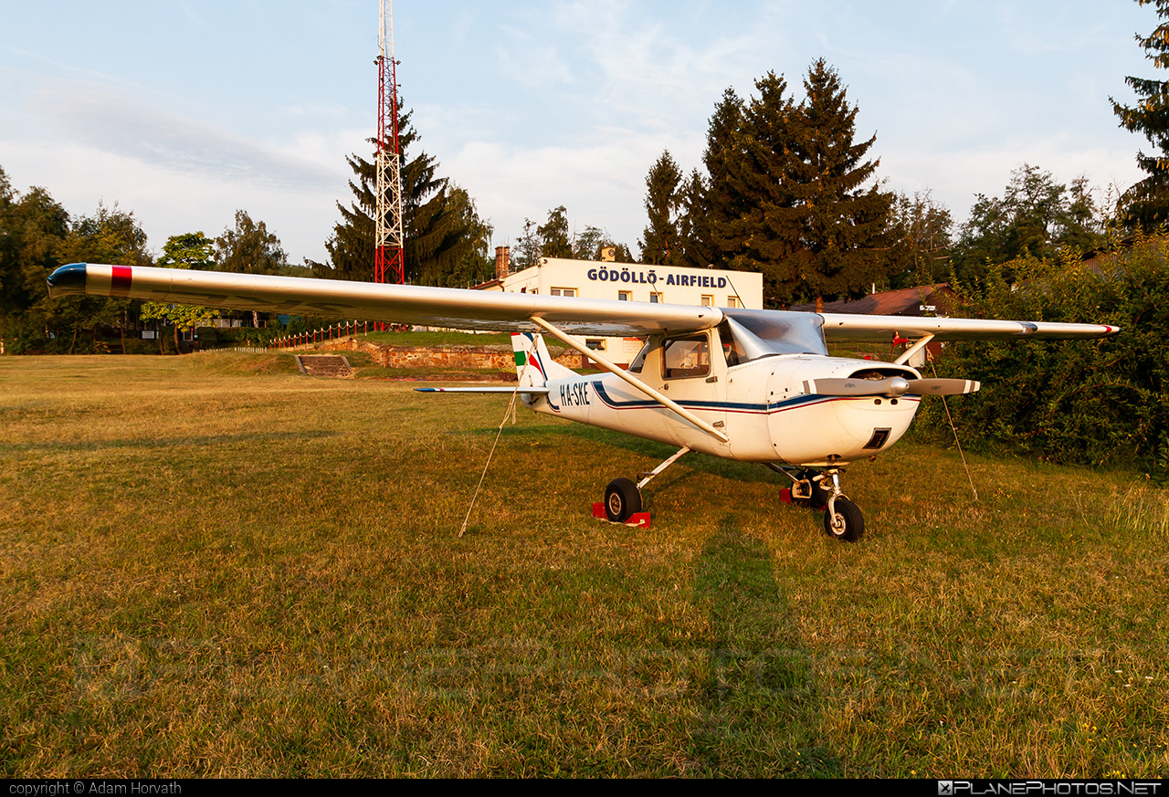 Cessna 150G - HA-SKE operated by Private operator #cessna