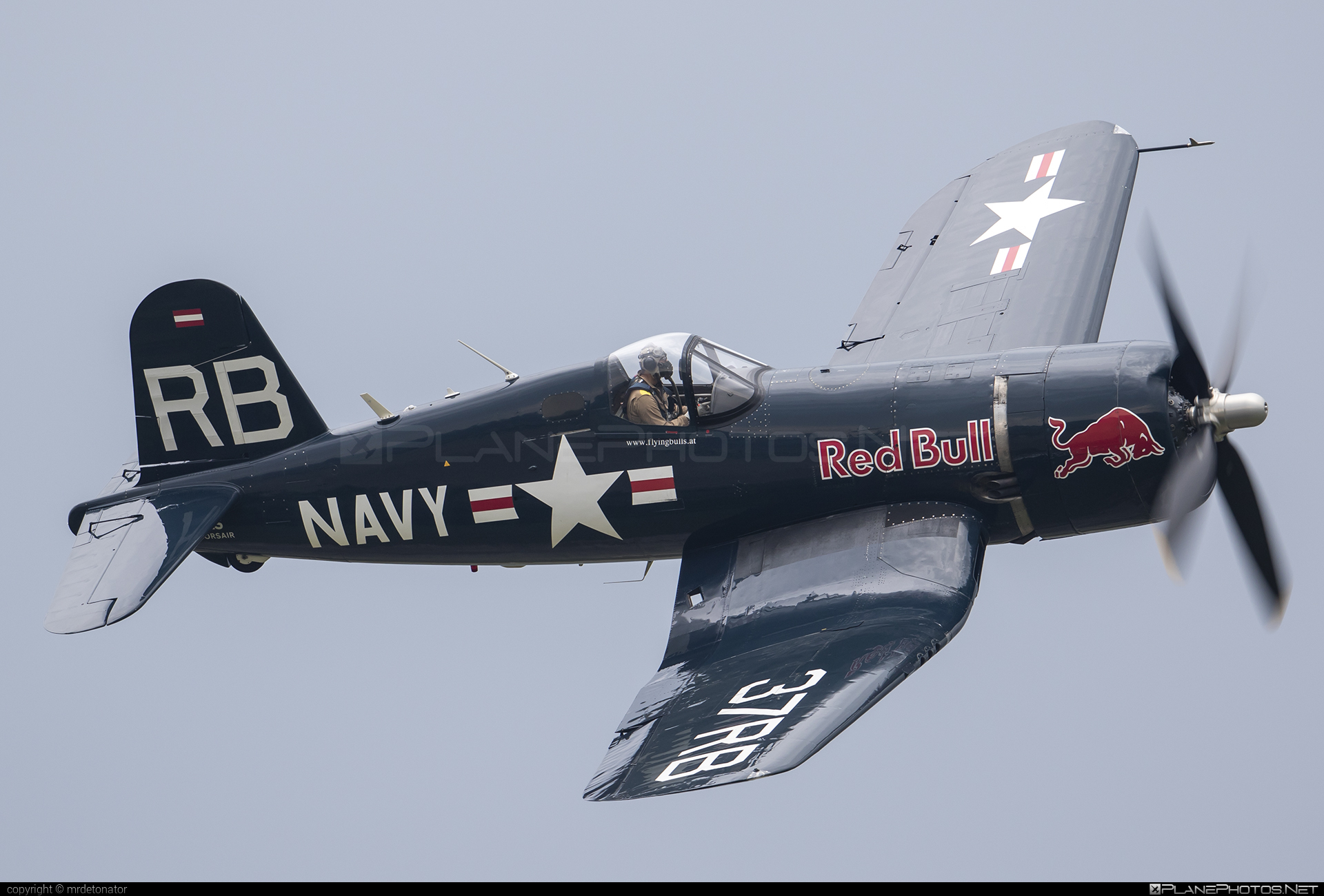 Vought F4U-4 Corsair - OE-EAS operated by The Flying Bulls #corsair #siaf2018 #theflyingbulls #vought