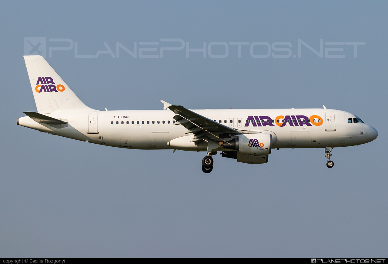 Airbus A320-214 - SU-BSN operated by Air Cairo #a320 #a320family #airbus #airbus320 #aircairo