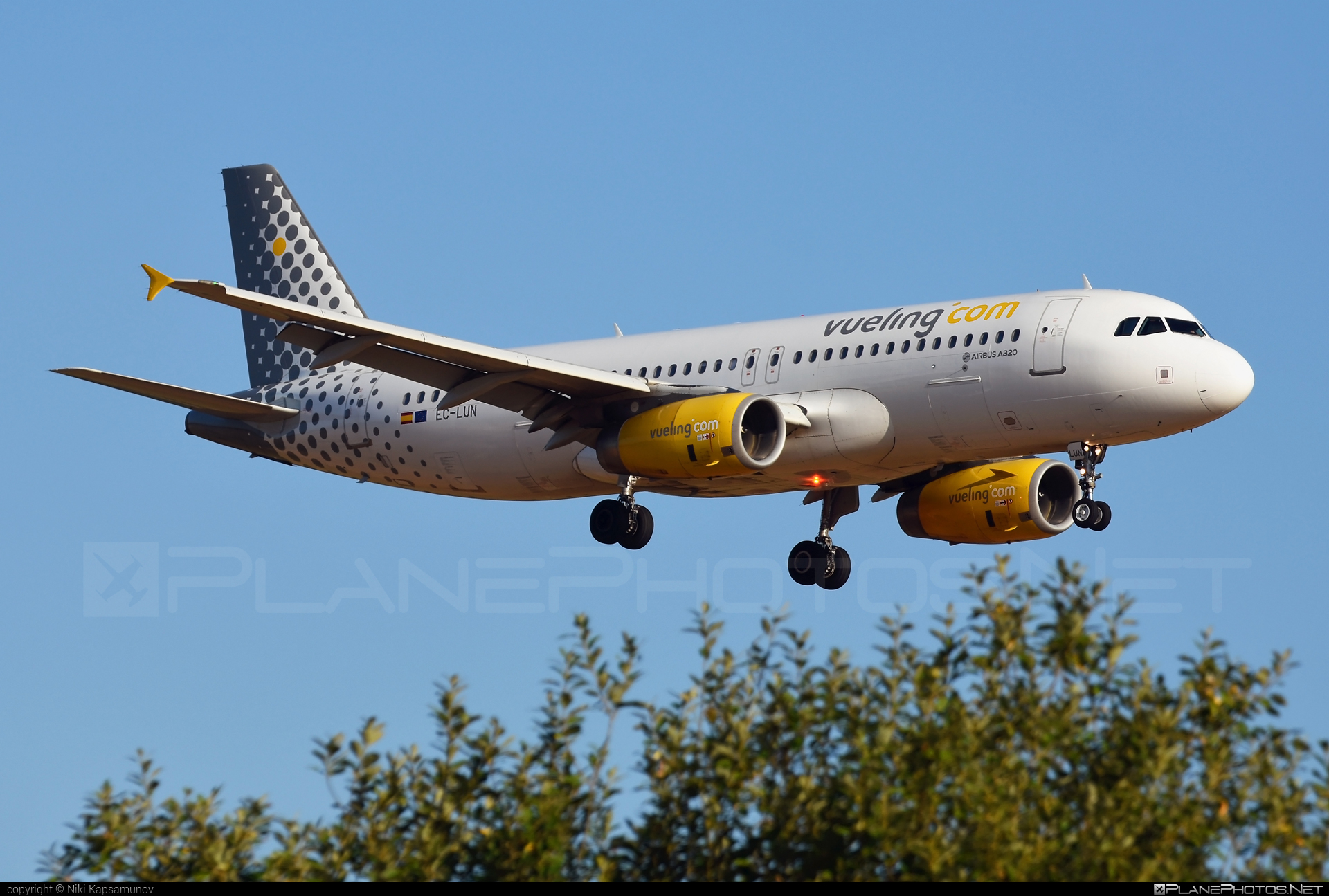 Airbus A320-232 - EC-LUN operated by Vueling Airlines #a320 #a320family #airbus #airbus320 #vueling #vuelingairlines