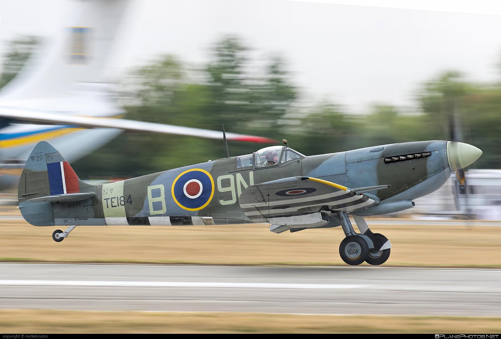 Supermarine Spitfire LF Mk.XVIe - G-MXVI operated by Private operator #ciaf2018 #spitfire #spitfirelfmkxvie #supermarine