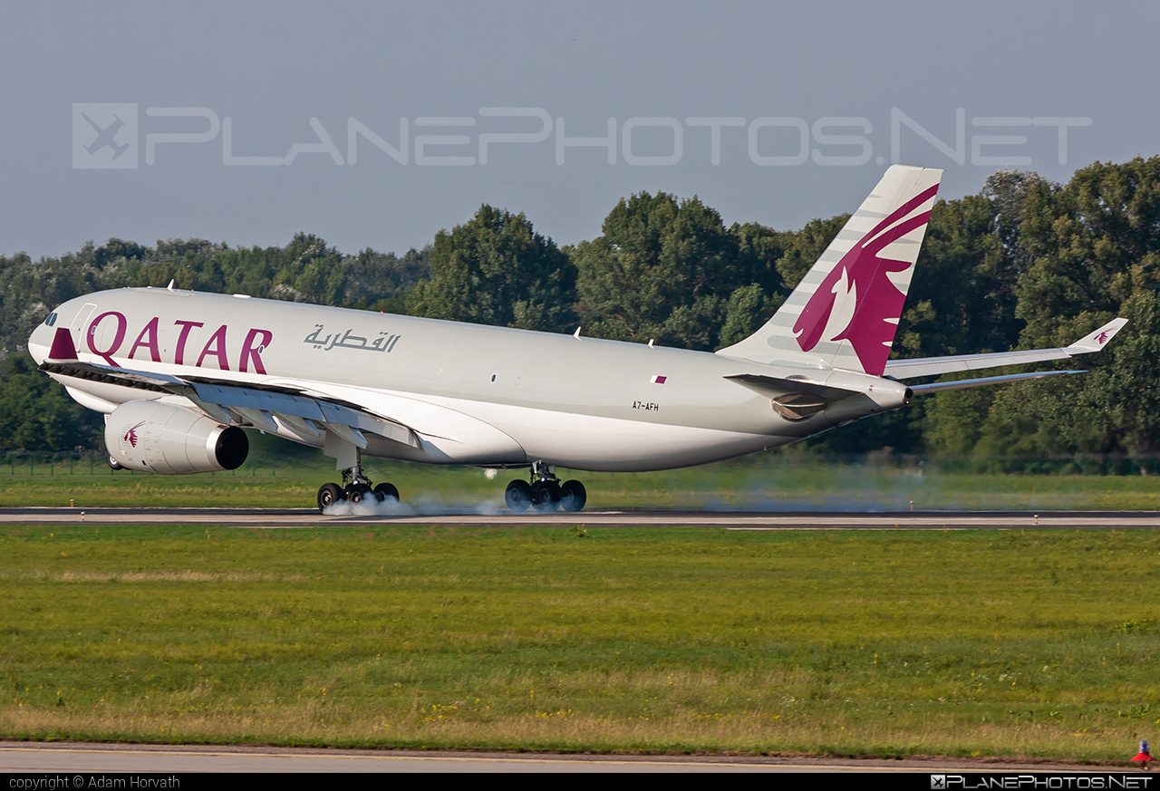 Airbus A330-243F - A7-AFH operated by Qatar Airways Cargo #a330 #a330f #a330family #airbus #airbus330 #qatarairwayscargo