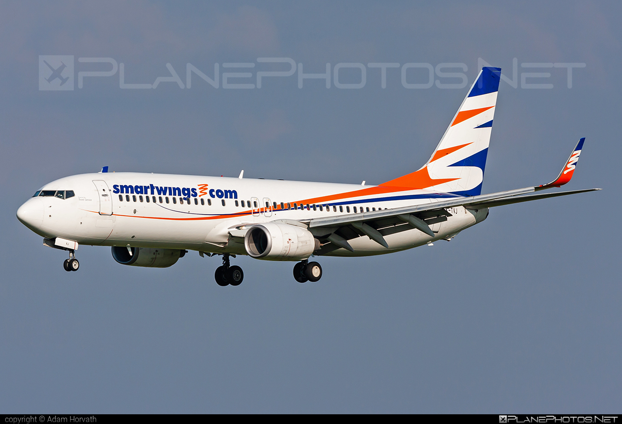 Boeing 737-800 - OK-TVJ operated by Travel Service #b737 #b737nextgen #b737ng #boeing #boeing737 #travelservice