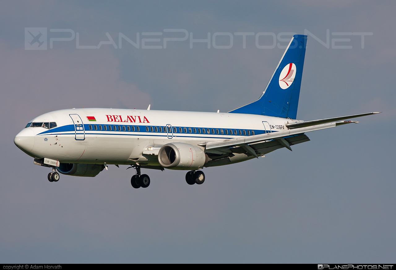 Boeing 737-300 - EW-336PA operated by Belavia Belarusian Airlines #b737 #belavia #boeing #boeing737