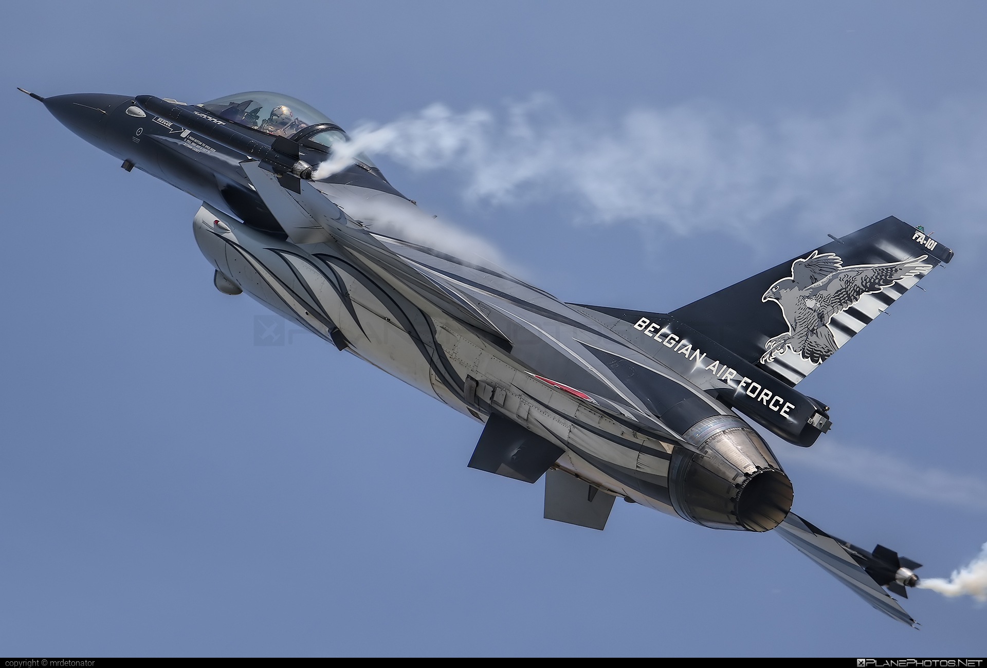 Luchtcomponent (Belgian Air Force) SABCA F-16AM Fighting Falcon - FA-101 #f16 #f16am #fightingfalcon #radomairshow2018 #sabca