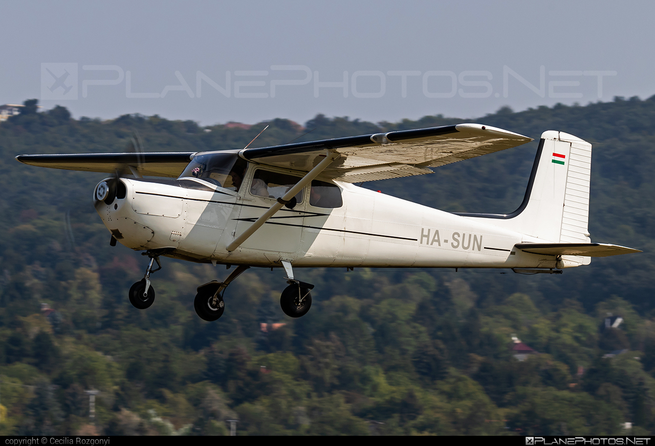 Cessna 172 Skyhawk - HA-SUN operated by Private operator #cessna