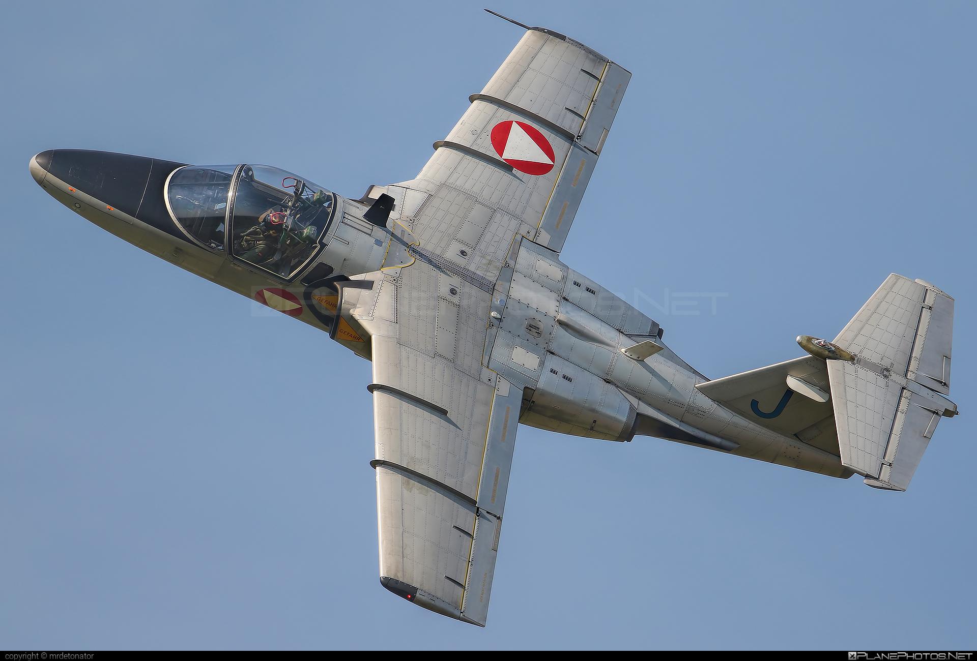 Österreichische Luftstreitkräfte (Austrian Air Force) Saab 105OE - RJ-30 #austrianairforce #radomairshow2018 #saab