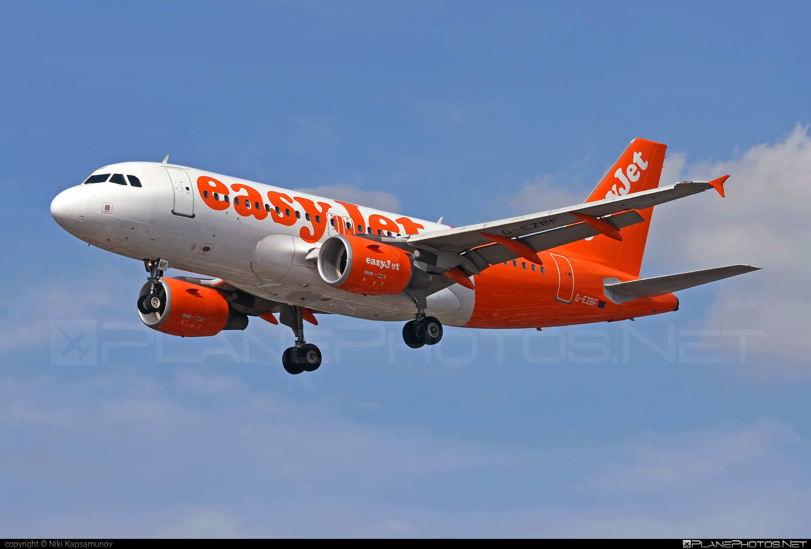 Airbus A319-111 - G-EZBF operated by easyJet #a319 #a320family #airbus #airbus319 #easyjet