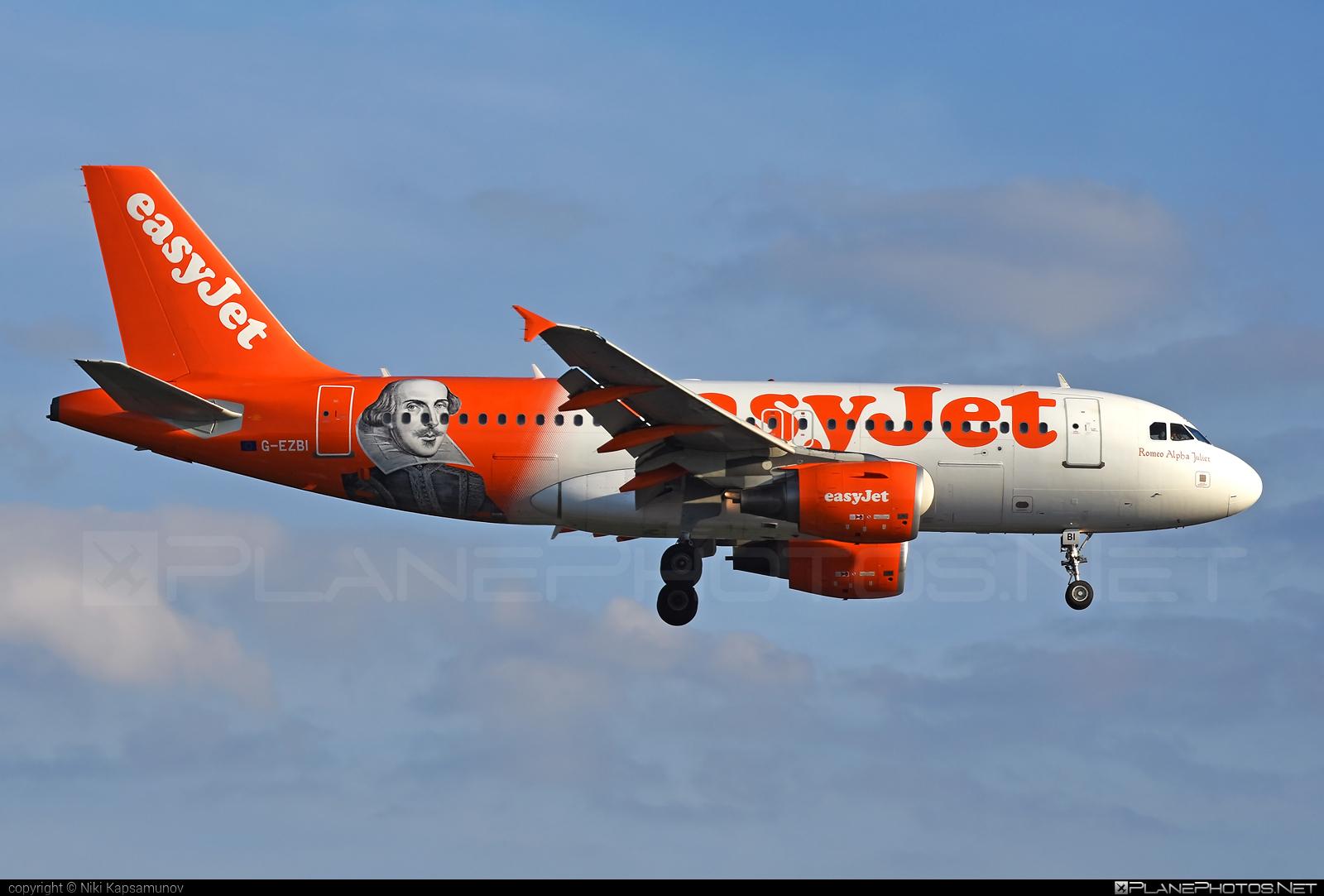 easyJet Airbus A319-111 - G-EZBI #a319 #a320family #airbus #airbus319 #easyjet