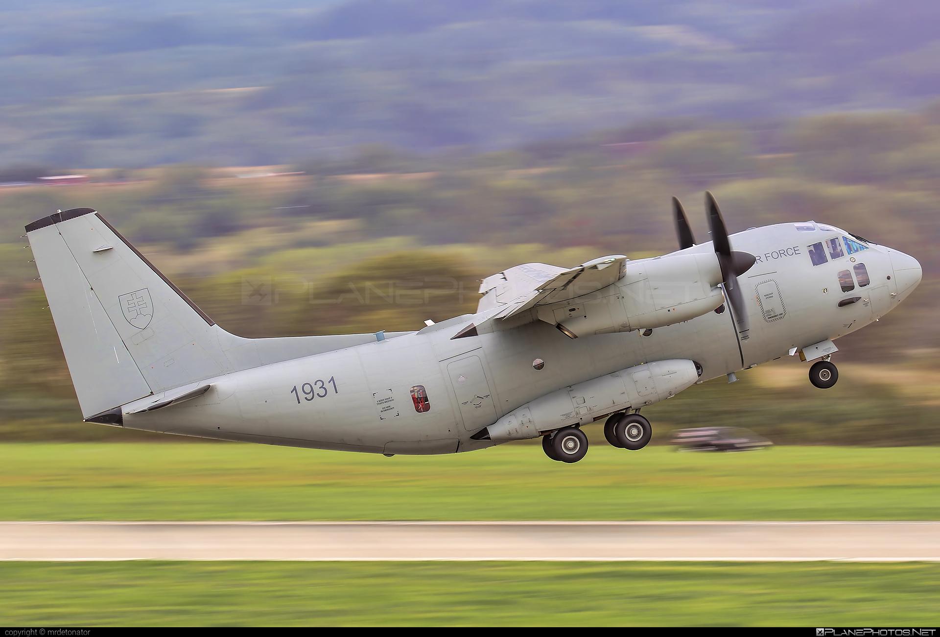 Leonardo C-27J Spartan - 1931 operated by Vzdušné sily OS SR (Slovak Air Force) #c27j #c27jspartan #c27spartan #leonardo #leonardo27j #leonardoc27jspartan #leonardospartan #siaf2018 #slovakairforce #vzdusnesilyossr