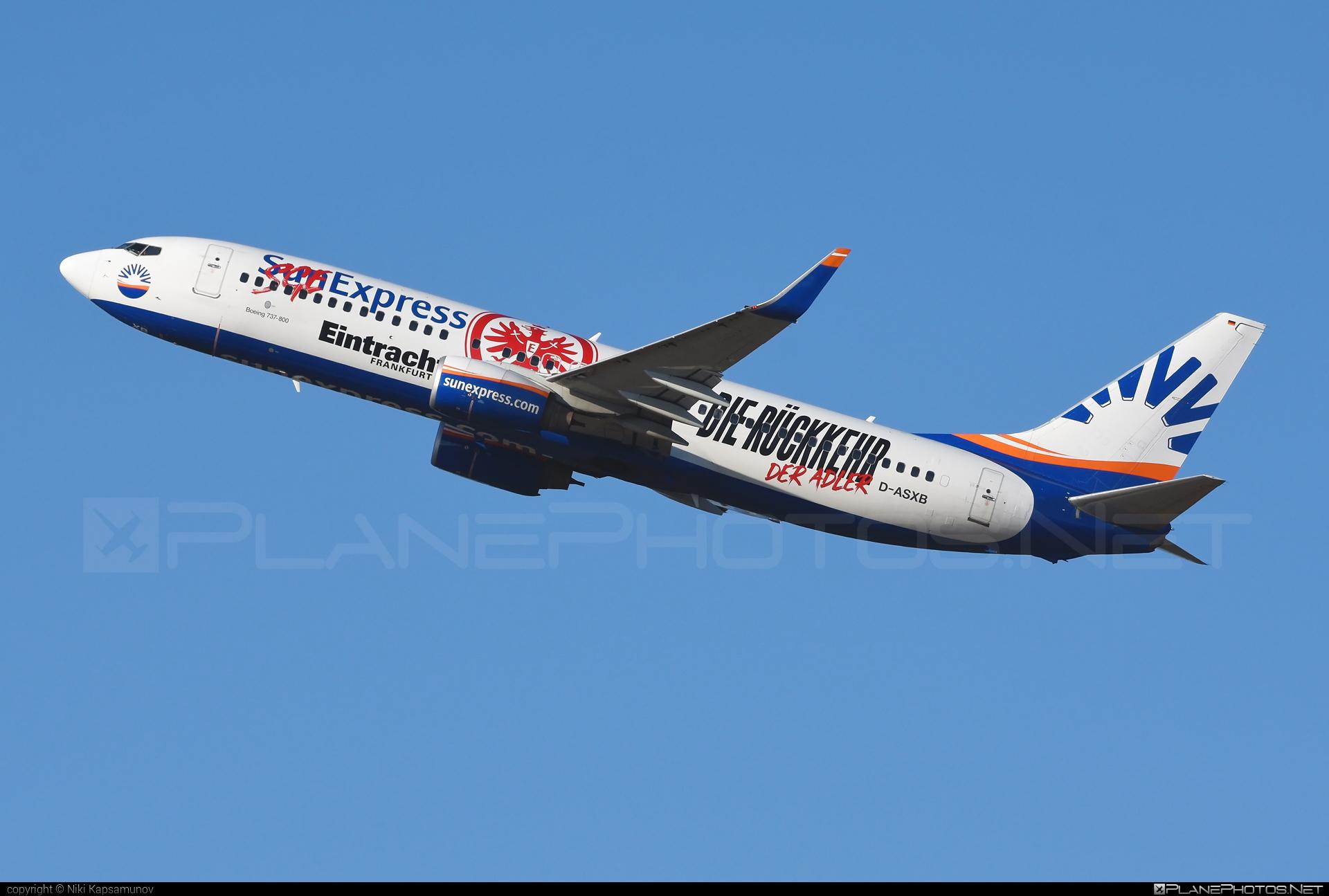 SunExpress Deutschland Boeing 737-800 - D-ASXB #b737 #b737nextgen #b737ng #boeing #boeing737