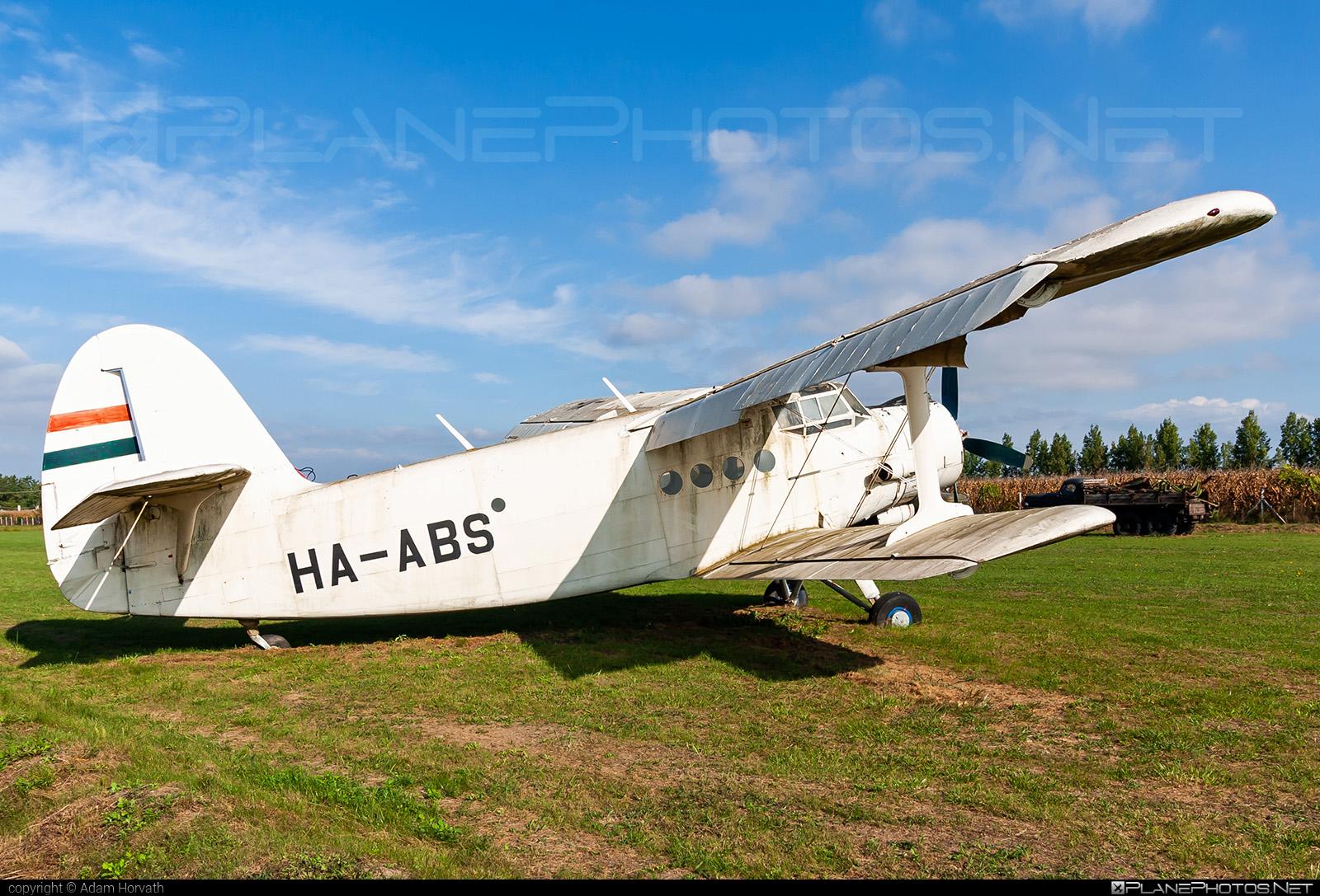 Antonov An-2 - HA-ABS operated by Private operator #an2 #antonov #antonov2