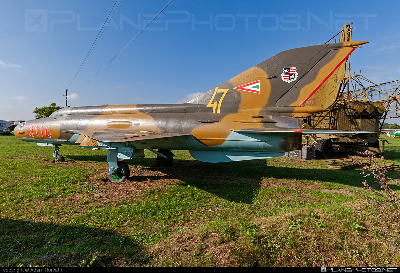 Mikoyan-Gurevich MiG-21MF - 8114 operated by Magyar Légierő (Hungarian Air Force) #hungarianairforce #magyarlegiero #mig #mig21 #mig21mf #mikoyangurevich