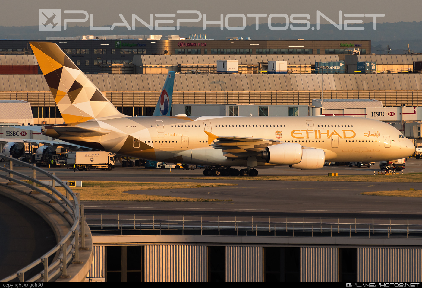 Airbus A380-861 - A6-APG operated by Etihad Airways #a380 #a380family #airbus #airbus380 #etihad #etihadairways