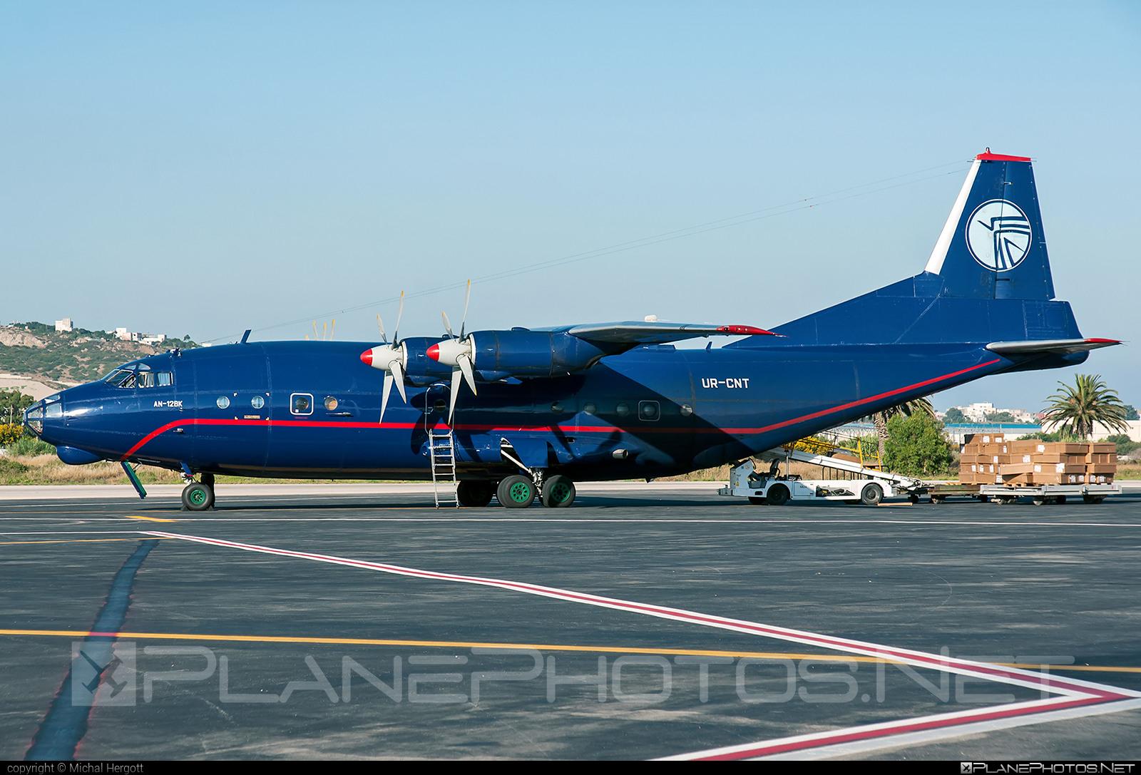 Antonov An-12BK - UR-CNT operated by Ukraine Air Alliance (UAA) #an12 #an12bk #antonov #antonov12