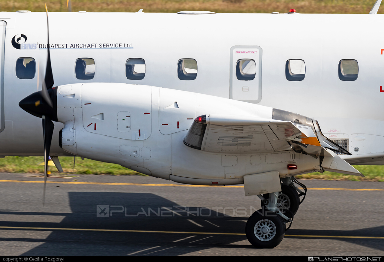 Embraer EMB-120ER Brasilia - HA-FAL operated by Budapest Aircraft Service #embraer
