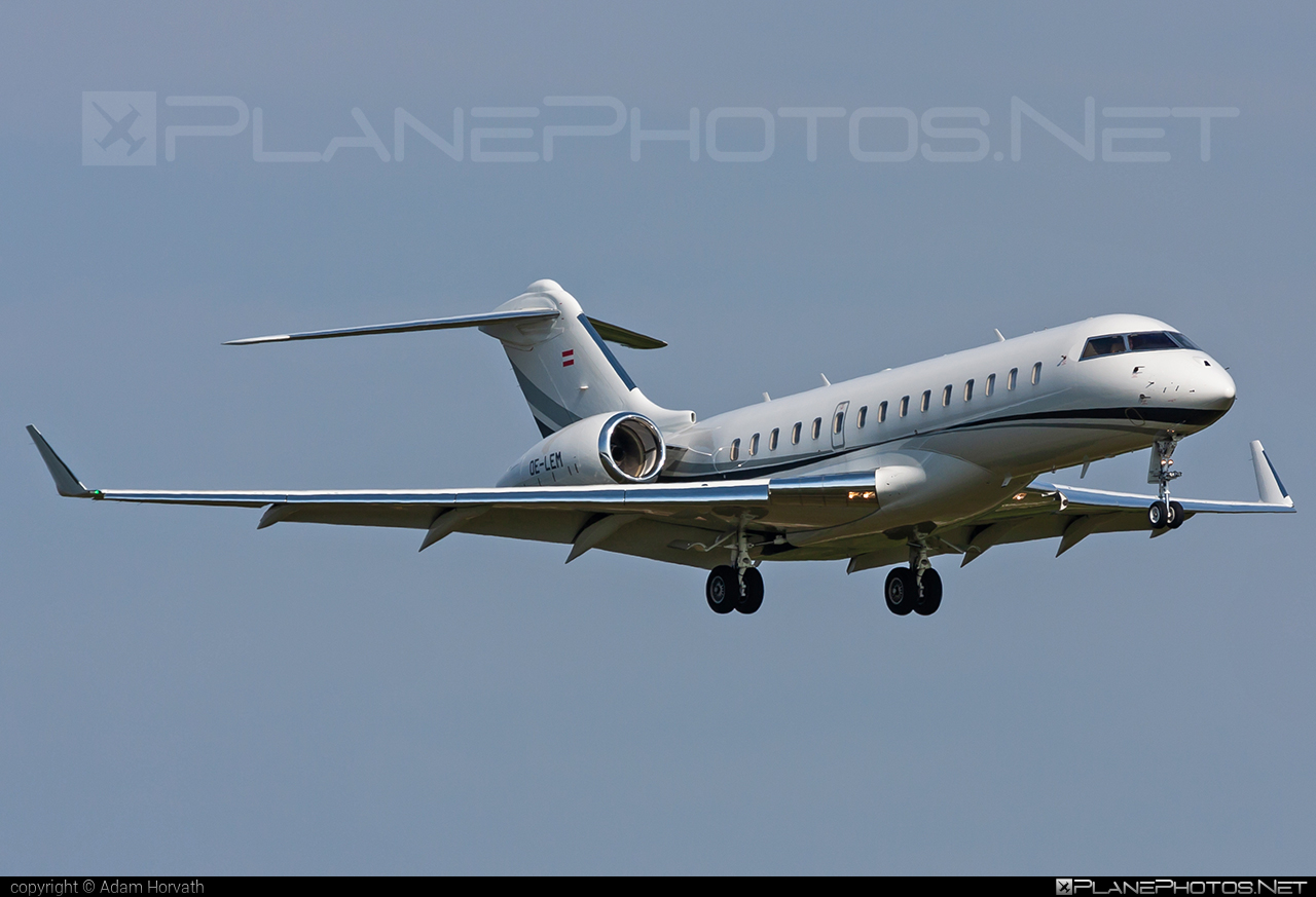 Bombardier Global 6000 (BD-700-1A10) - OE-LEM operated by Private operator #bd7001a10 #bombardier #bombardierglobal6000 #global6000