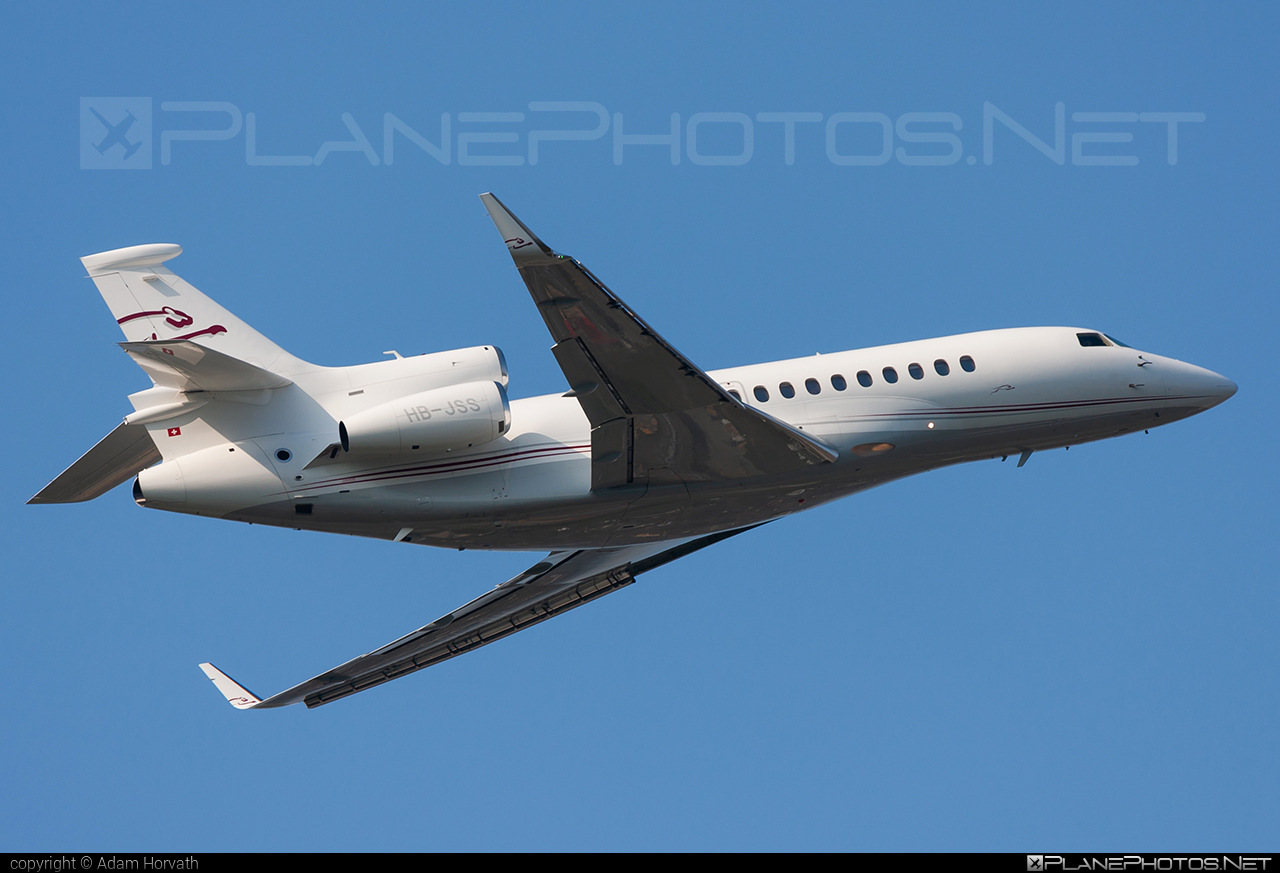 Dassault Falcon 7X - HB-JSS operated by Cat Aviation #dassault #dassaultfalcon #dassaultfalcon7x #falcon7x