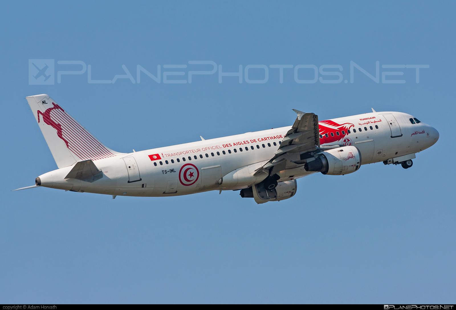 Tunisair Airbus A320-211 - TS-IML #a320 #a320family #airbus #airbus320 #tunisair