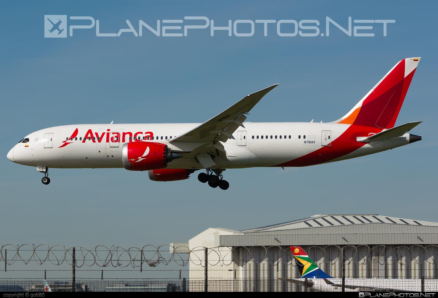 Boeing 787-8 Dreamliner - N781AV operated by Avianca #avianca #b787 #boeing #boeing787 #dreamliner