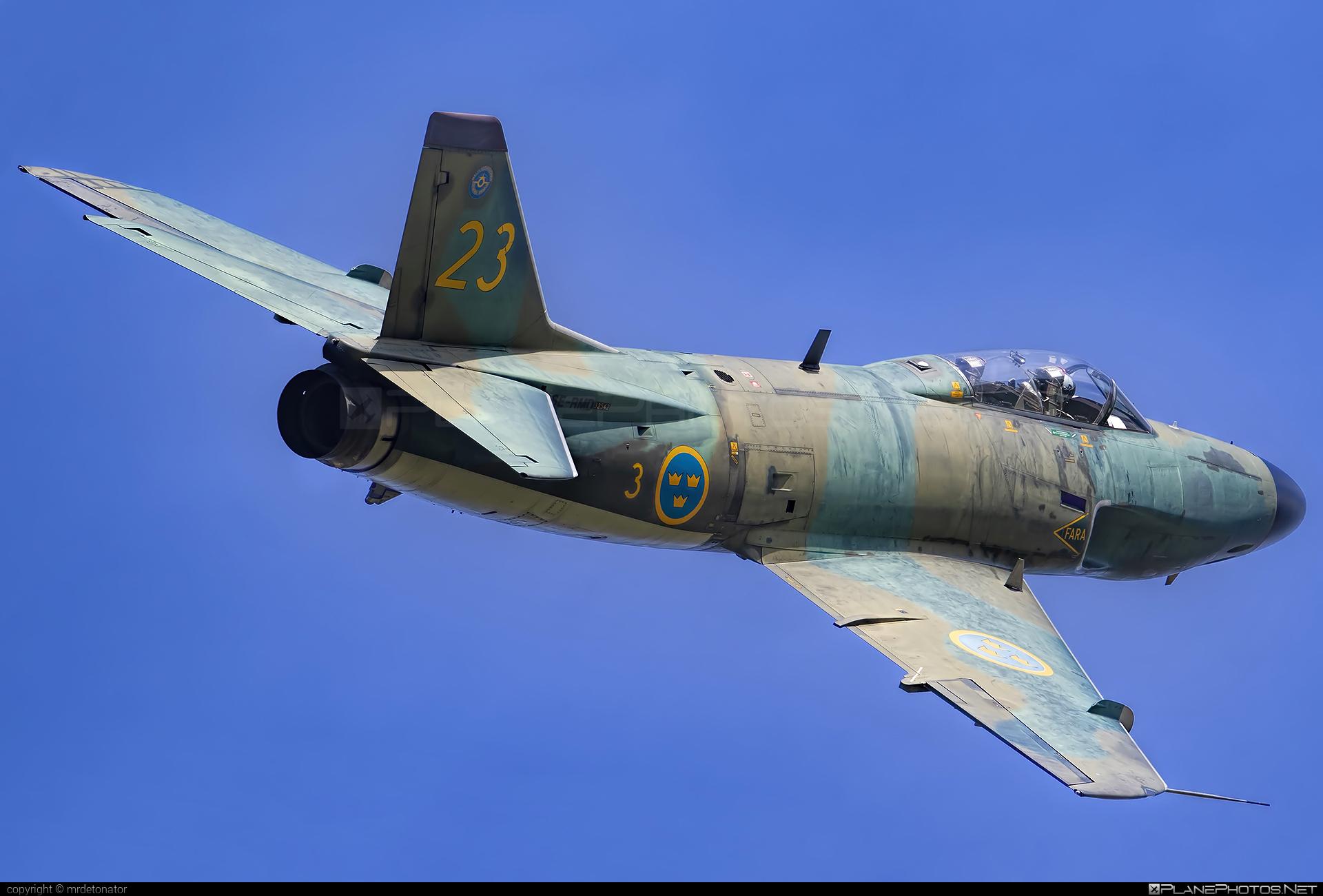 Saab J 32B Lansen - SE-RMD operated by Swedish Air Force Historic Flight #natodays #natodays2018 #saab #saab32 #saab32lansen #saabj32 #saabj32b